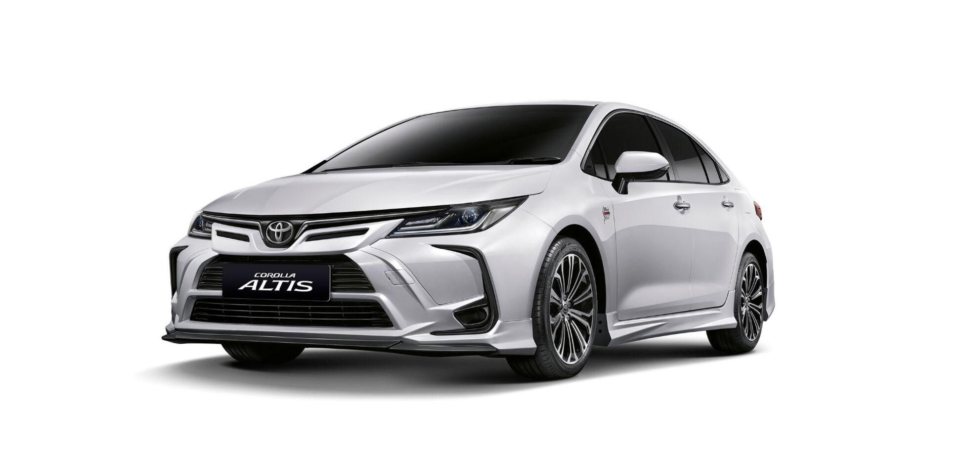 Toyota присвятила версію Сorolla трасі Нюрбургринг
