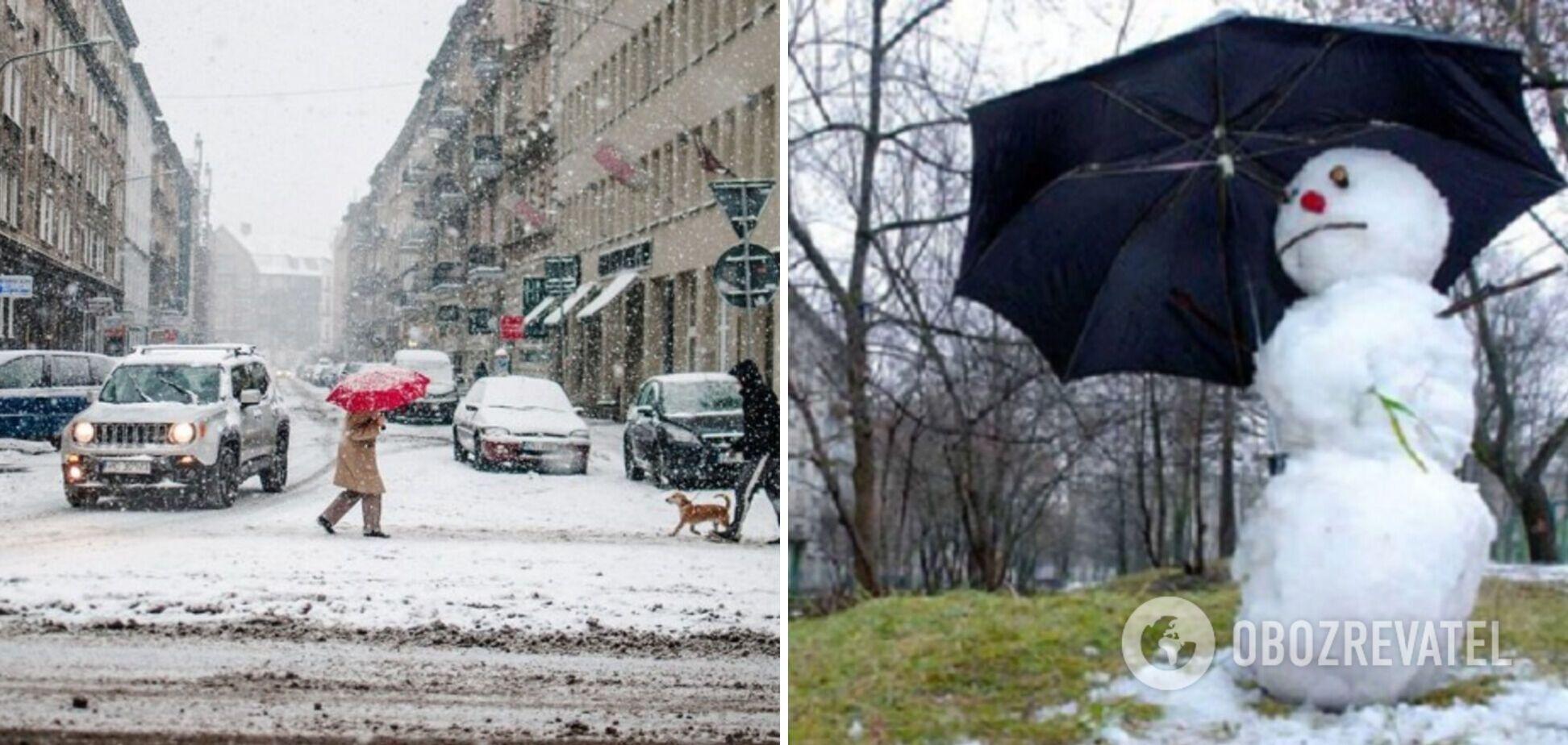 Синоптикиня розповіла, чи чекати снігу взимку в Україні та чим загрожує зміна клімату