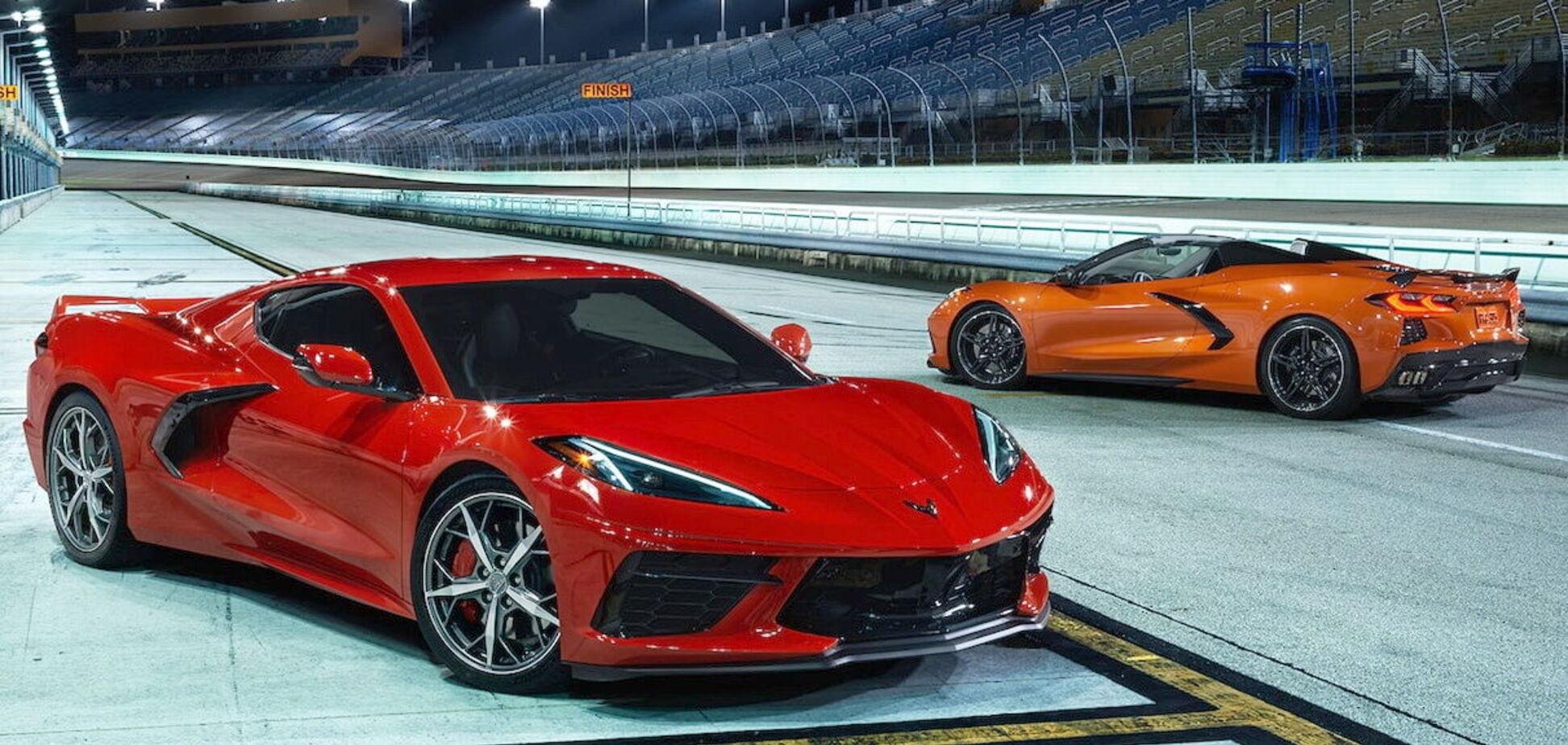 В Европе стартовали продажи Chevrolet Corvette