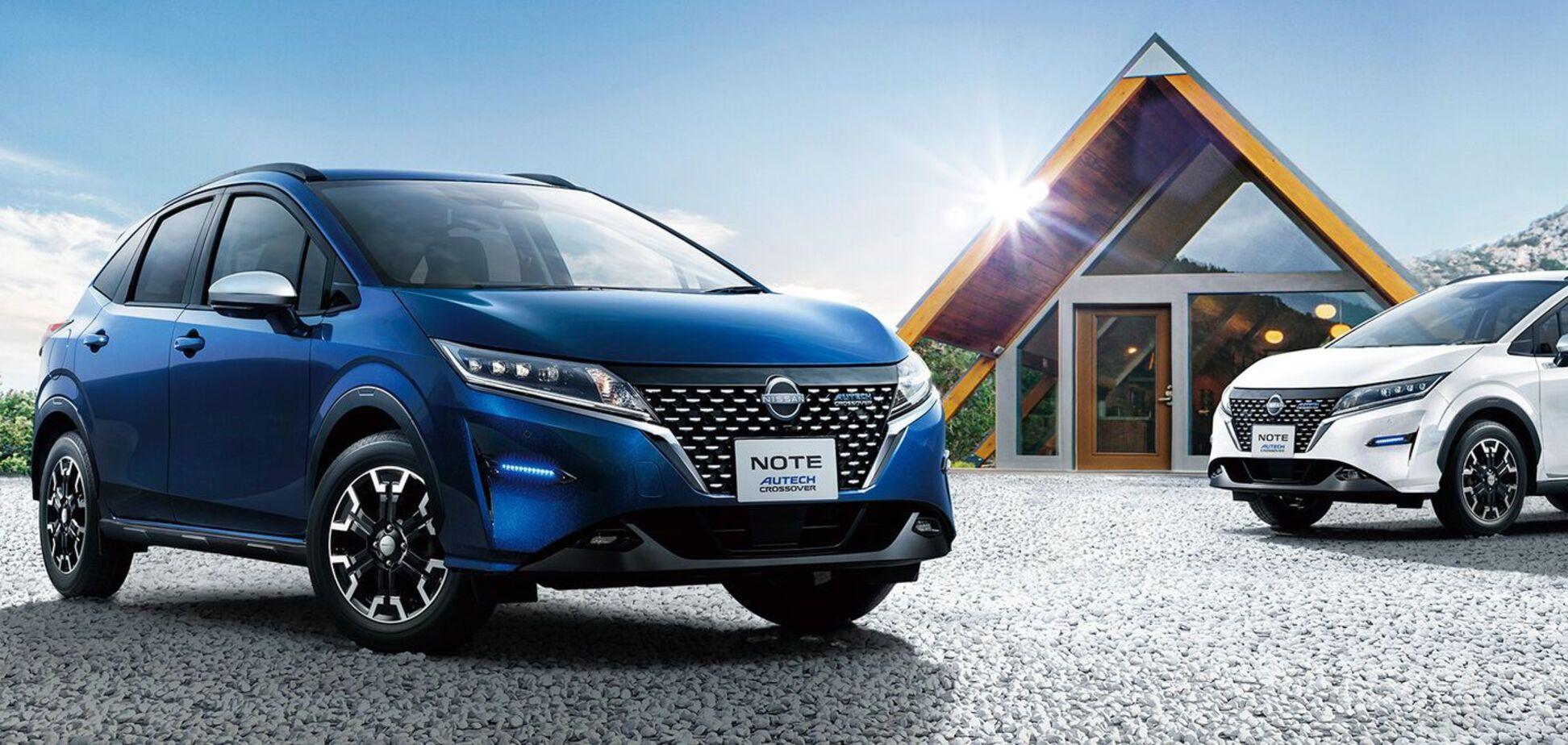 Nissan представив в Японії Note Autech Crossover