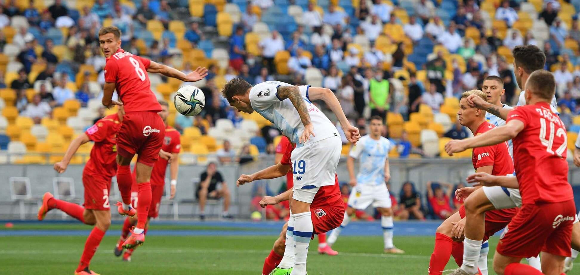 Динамо победило Верес в 1-м туре