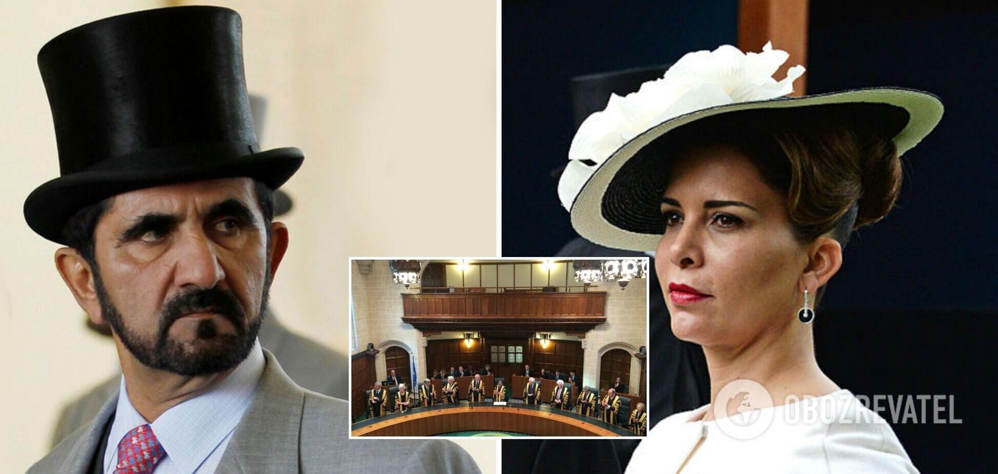 Шейх Дубая зламав телефон колишньої дружини принцеси Хаї і її адвокатів – рішення суду