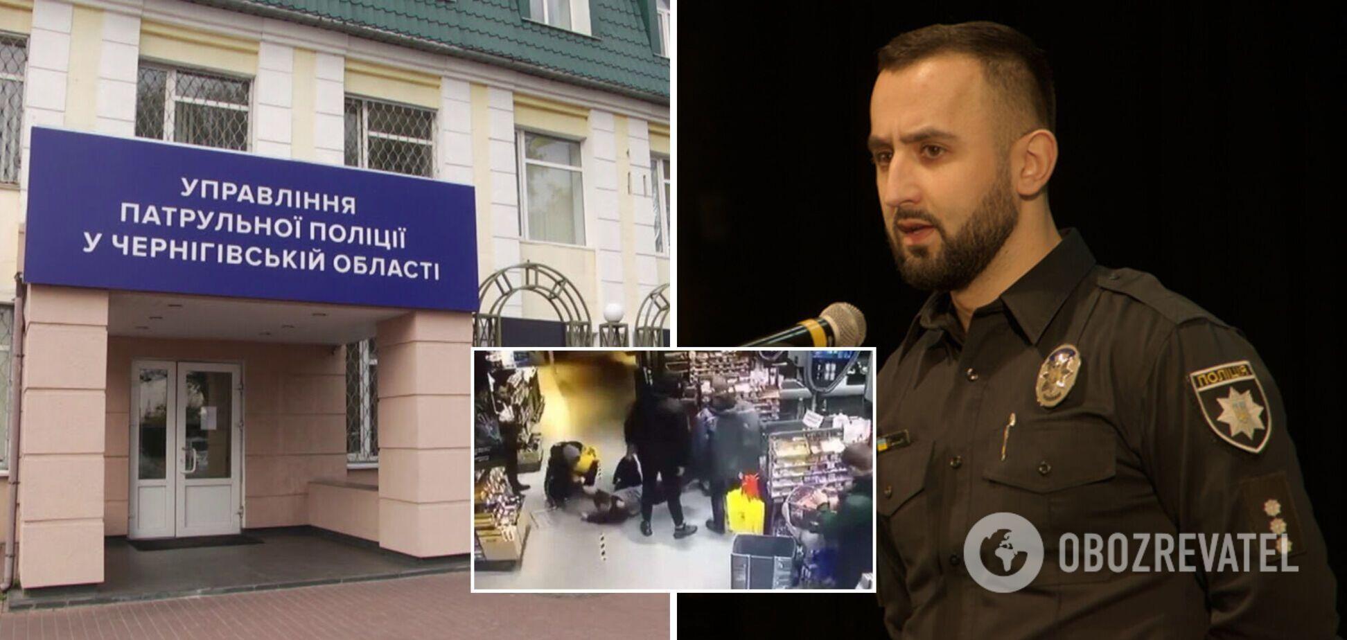 Побиття поліцейських у Чернігові: керівництво патрульної поліції в області усунули з посад