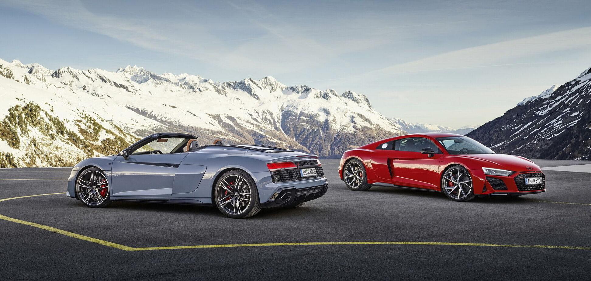 Audi додала вогню спорткару R8
