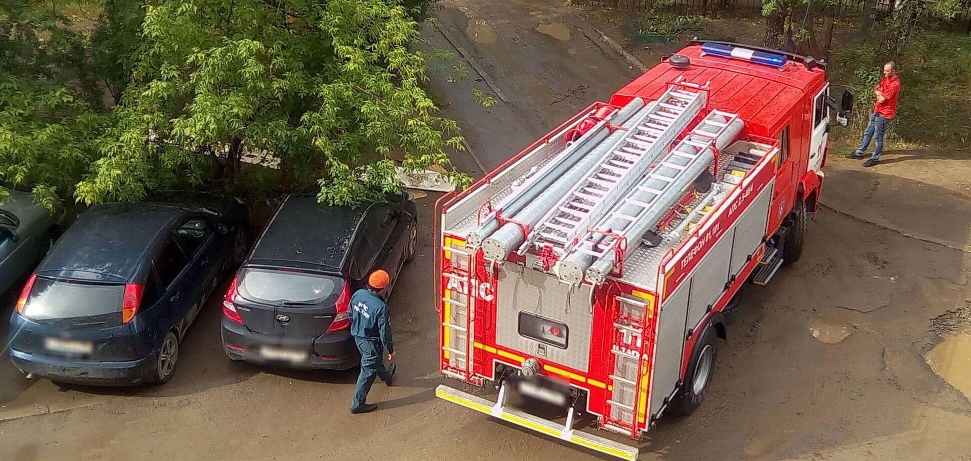 У Грузії в багатоповерхівці прогриміла серія вибухів, почалася пожежа