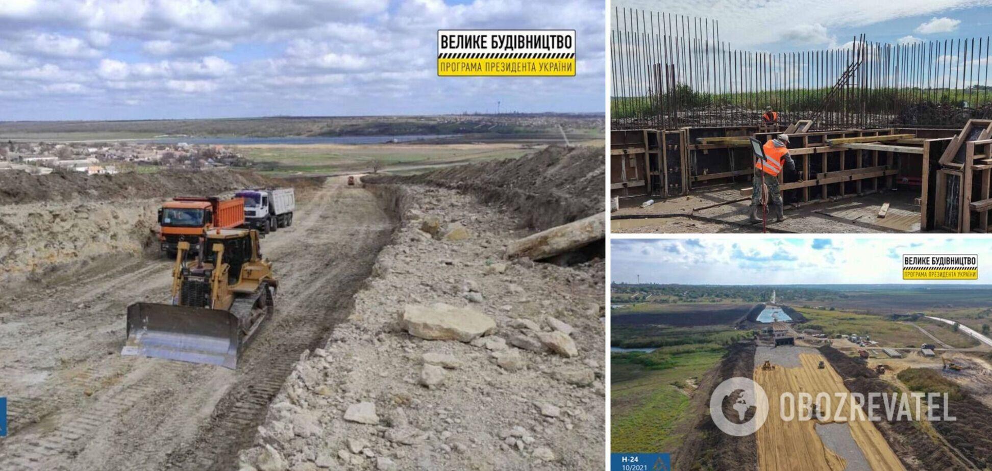 В Николаевской области началось строительство нового Троицкого моста