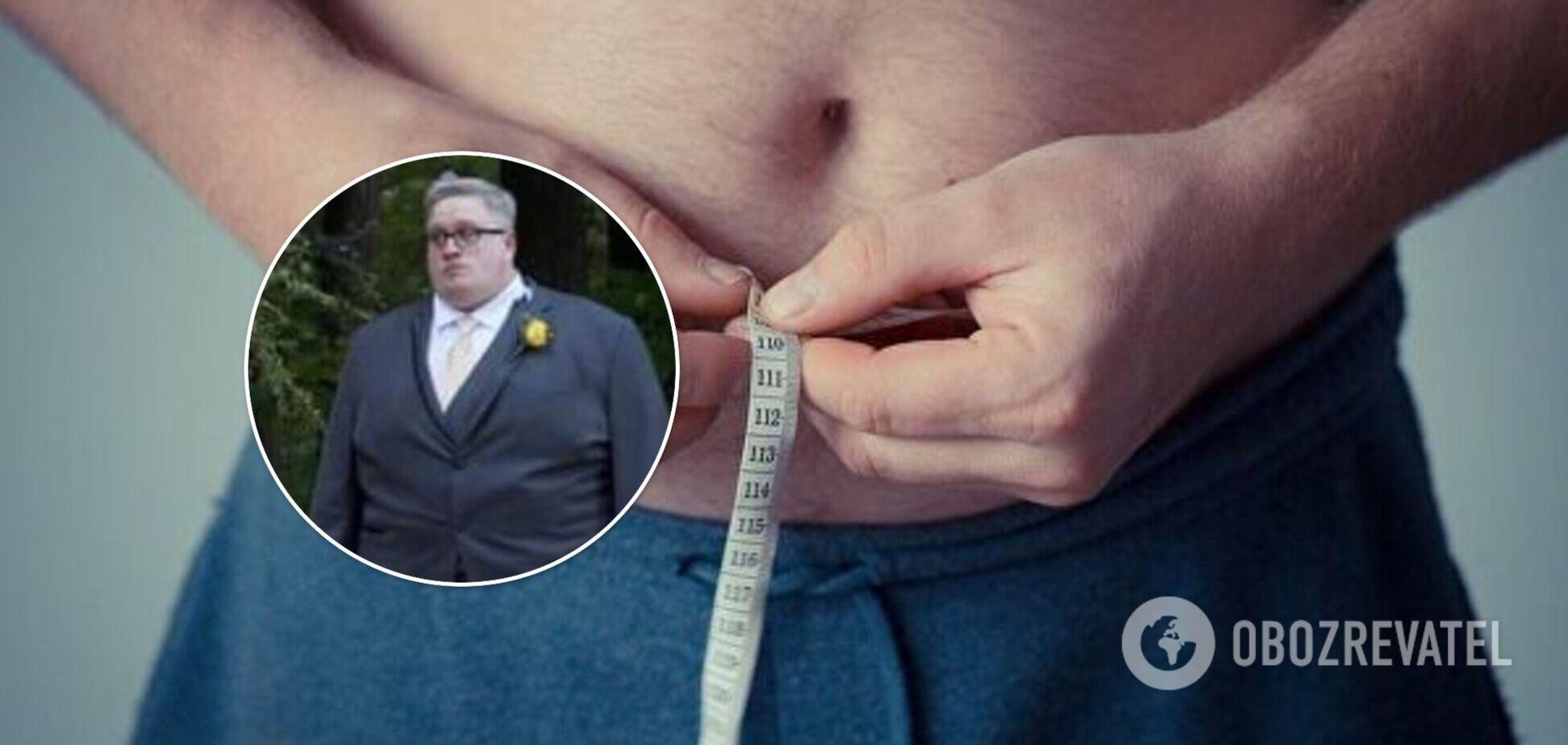 Чоловік скинув 172 кг без операцій і 'чарівних' таблеток: у чому суть. Фото до та після