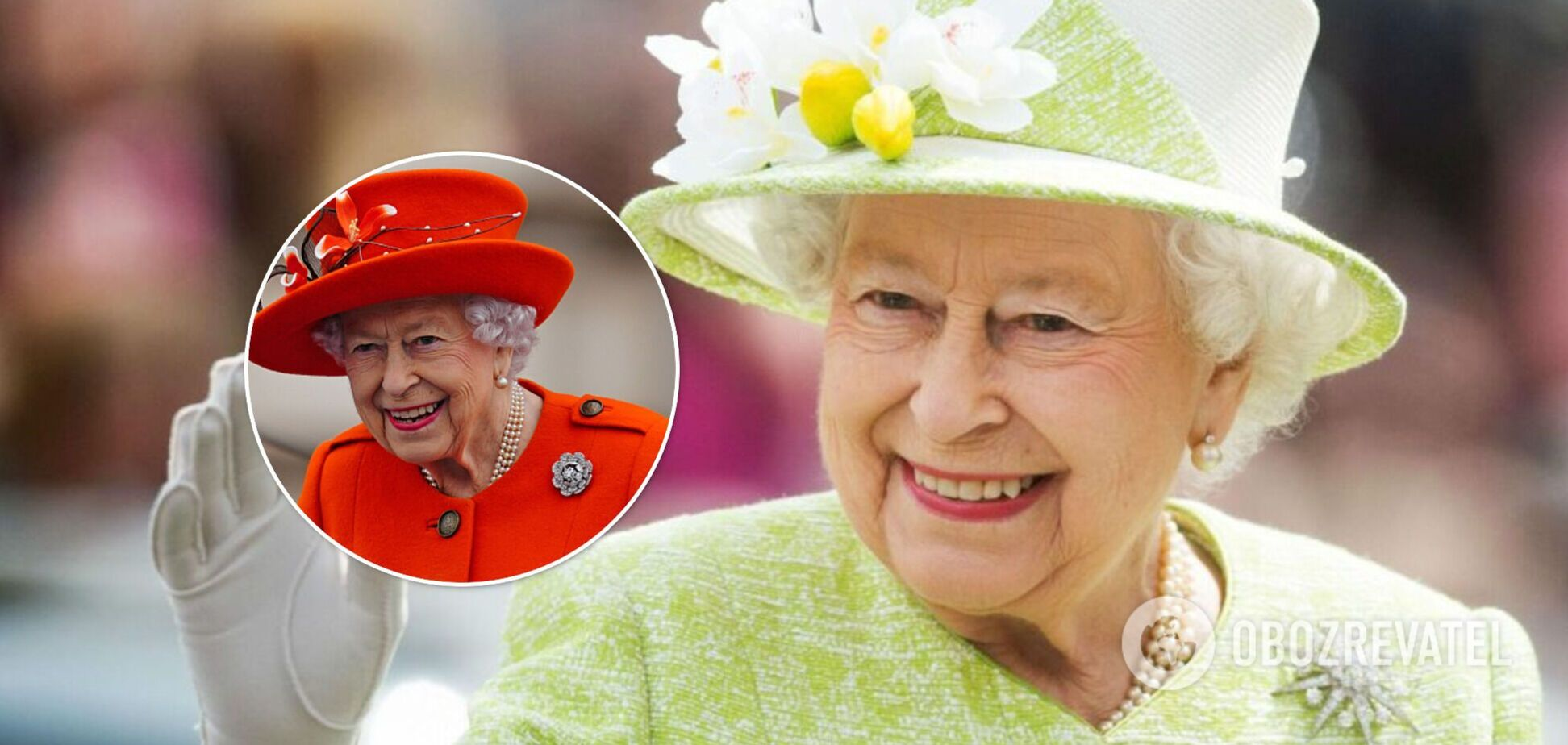 Єлизавета II вразила вбранням кольору гарбуза на заході в Букінгемі. Фото