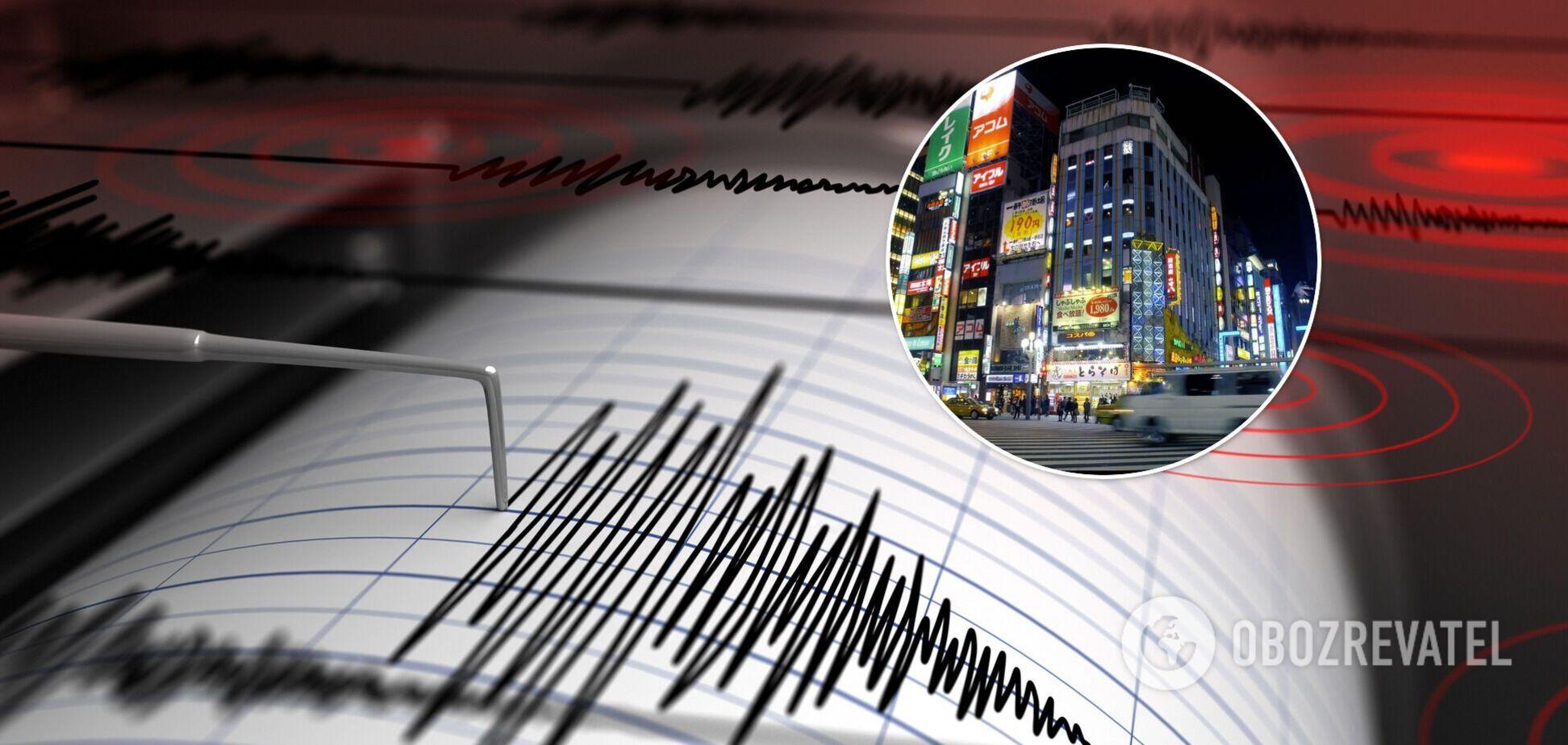 У Японії стався потужний землетрус: підземні поштовхи показали на відео