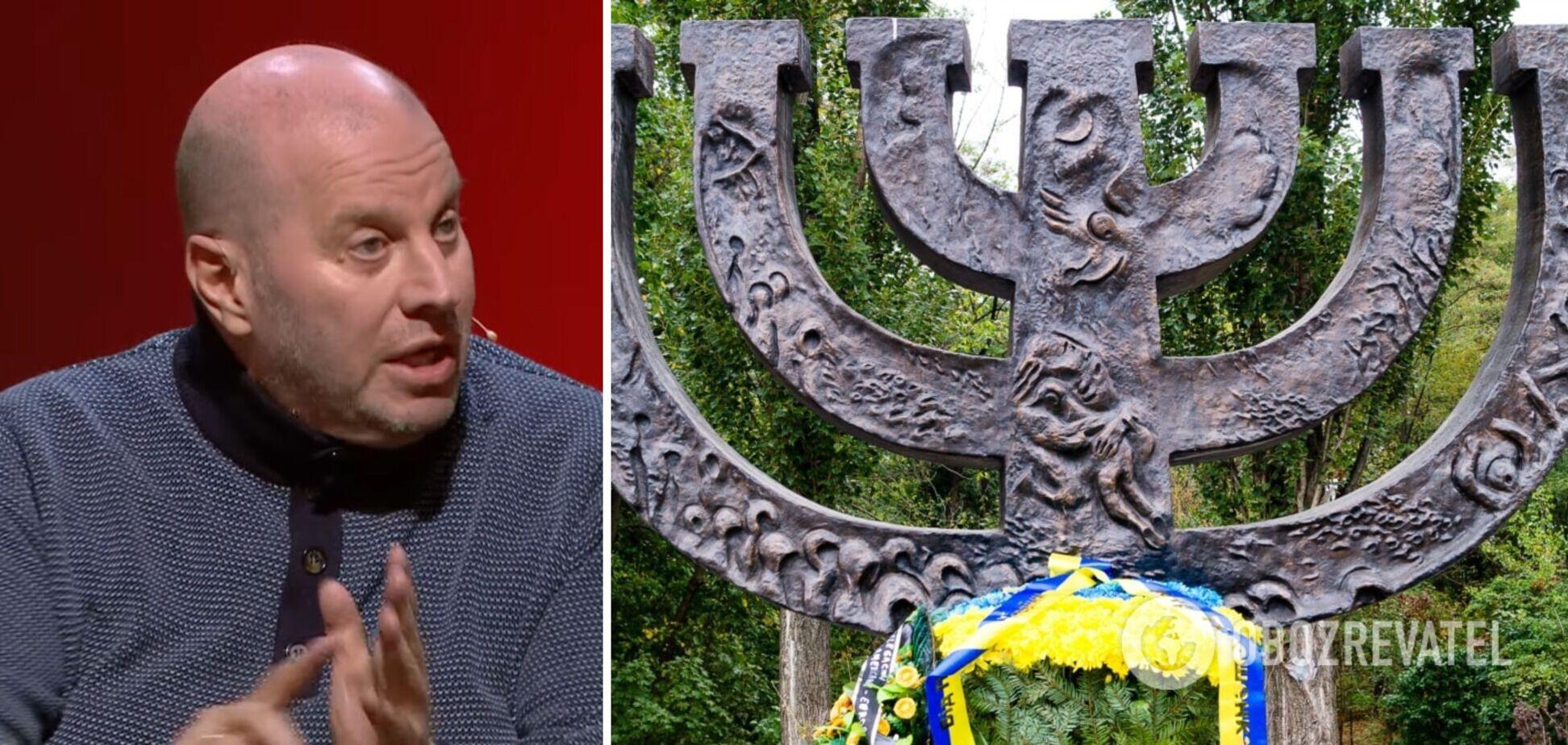 Політики не хочуть, щоб в Україні стояв пам'ятник євреям, – Бродський