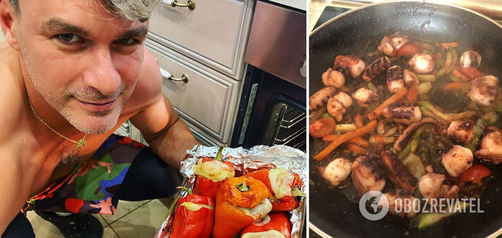 Арсен Мирзоян рассказал о кулинарных увлечениях  фирменных рецептах