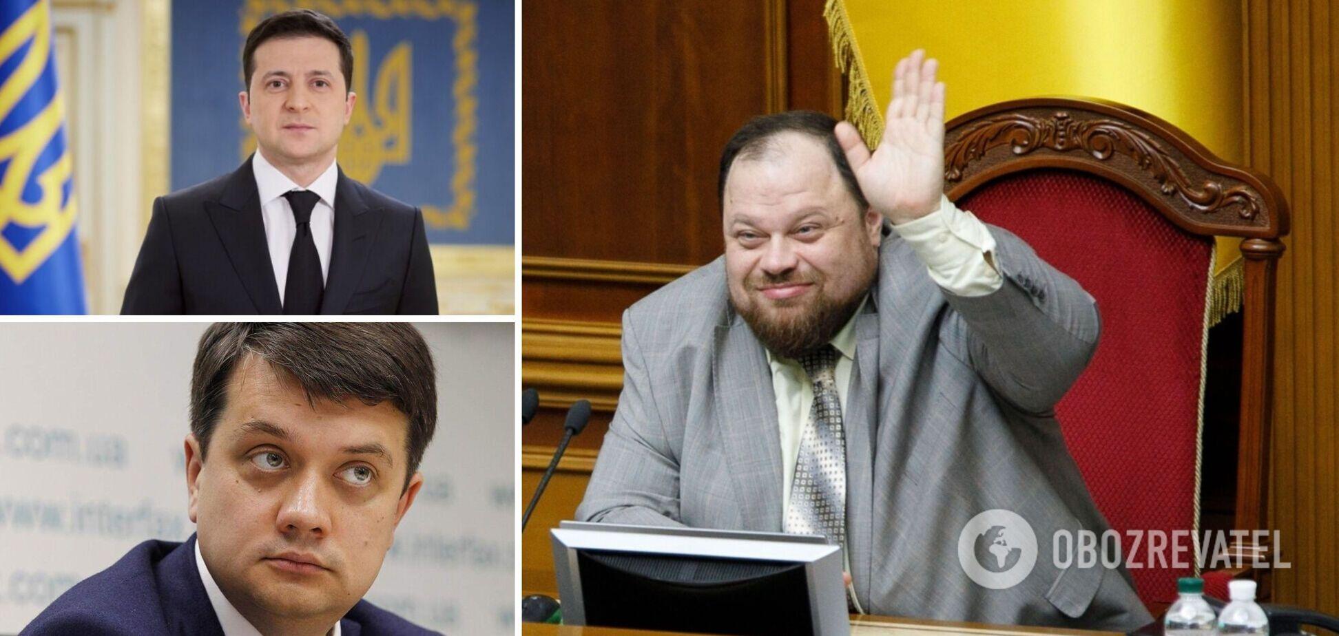 Руслан Стефанчук стал новым главой Верховной Рады вместо Дмитрия Разумкова