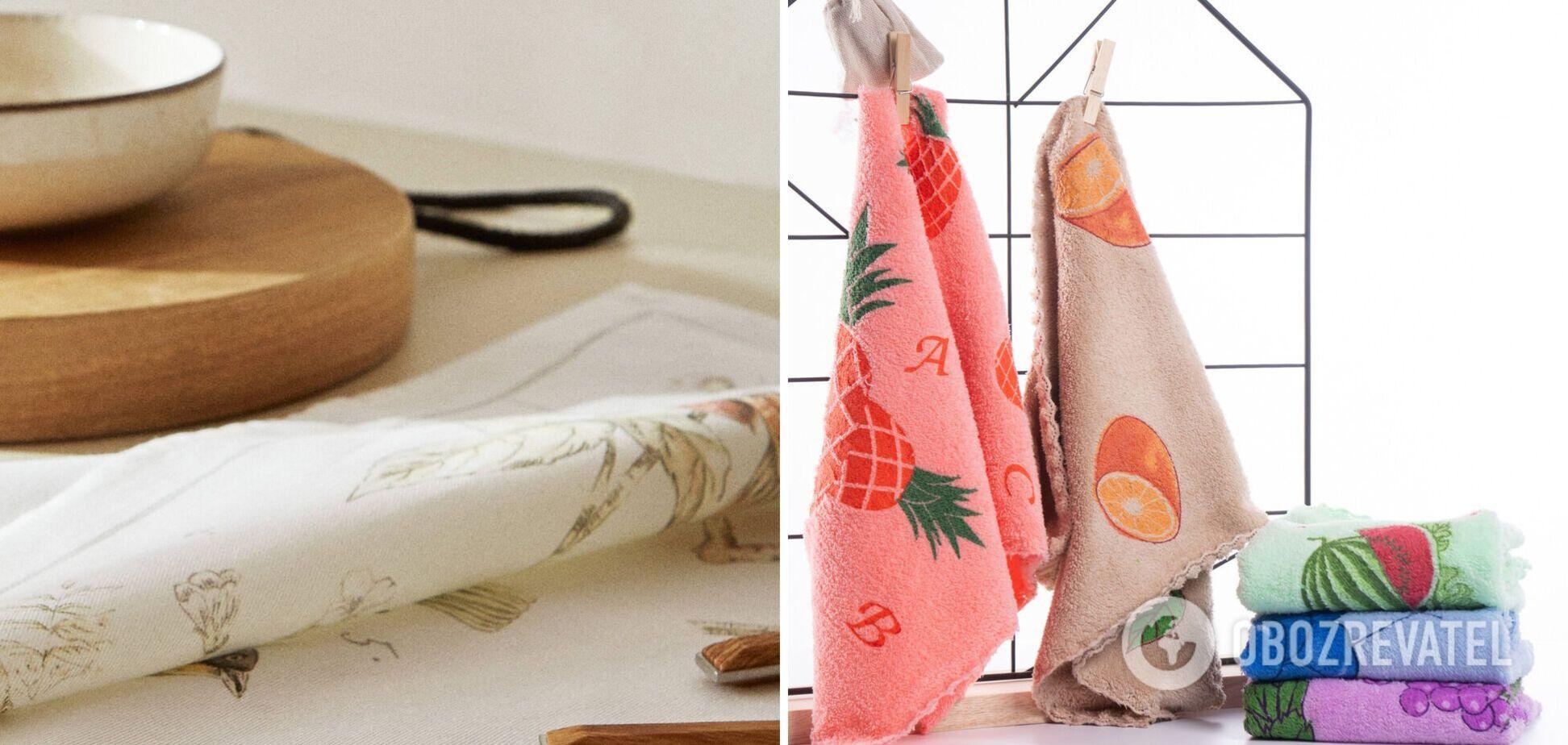 Як видалити жирні плями на кухонних рушниках: лайфхаки