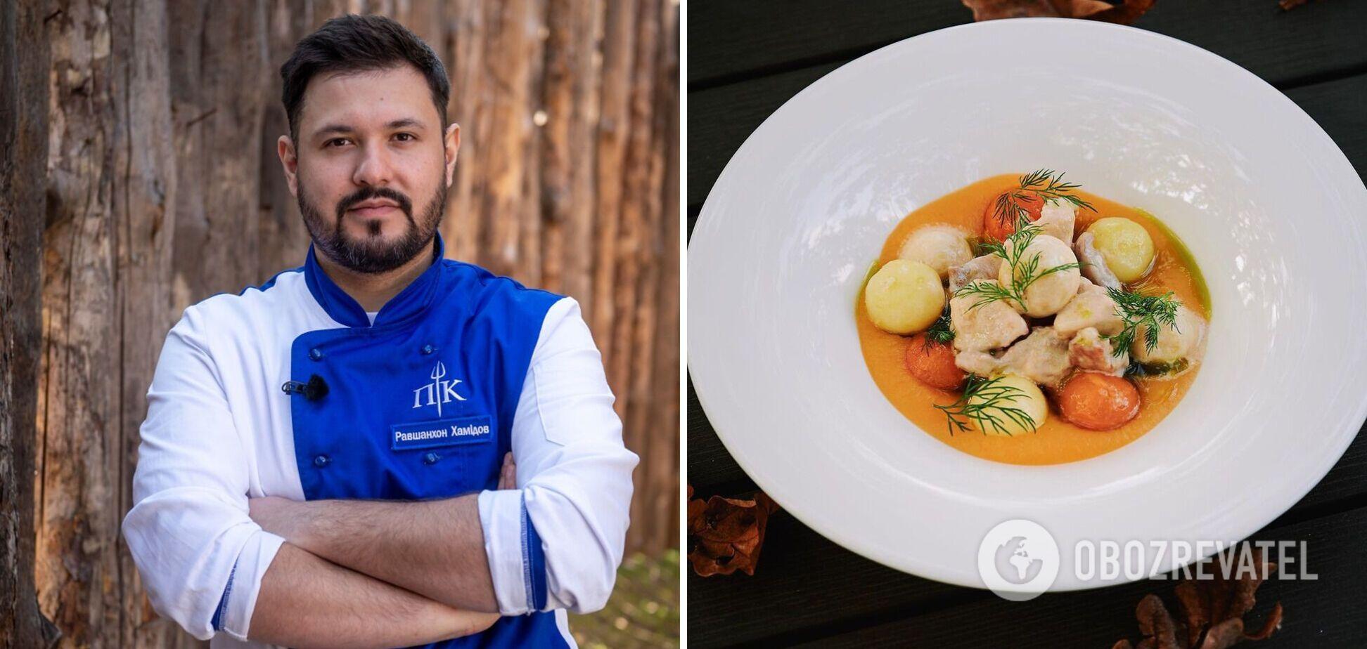 Равшан Хамідов поділився рецептом смачної страви