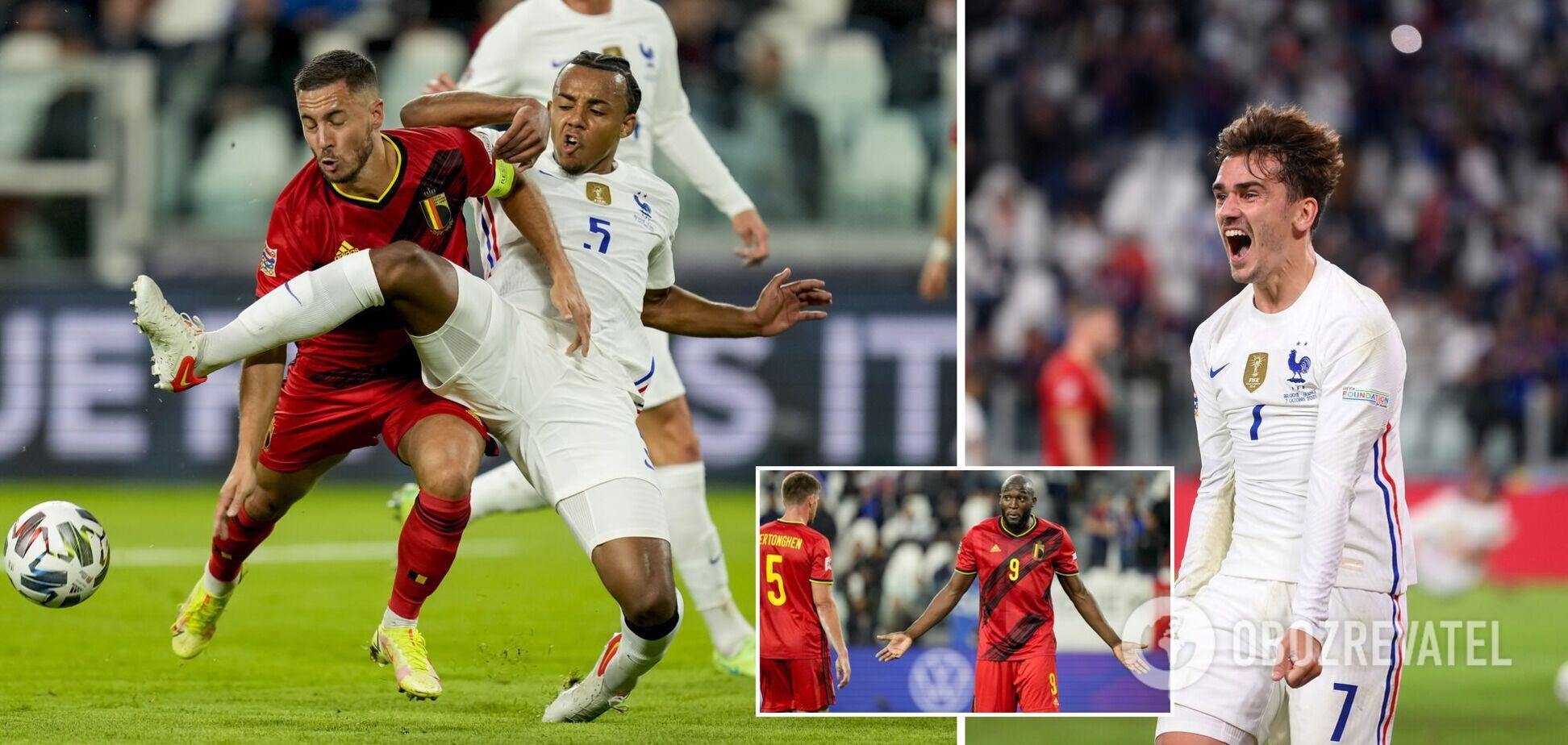 Франція обіграла Бельгію
