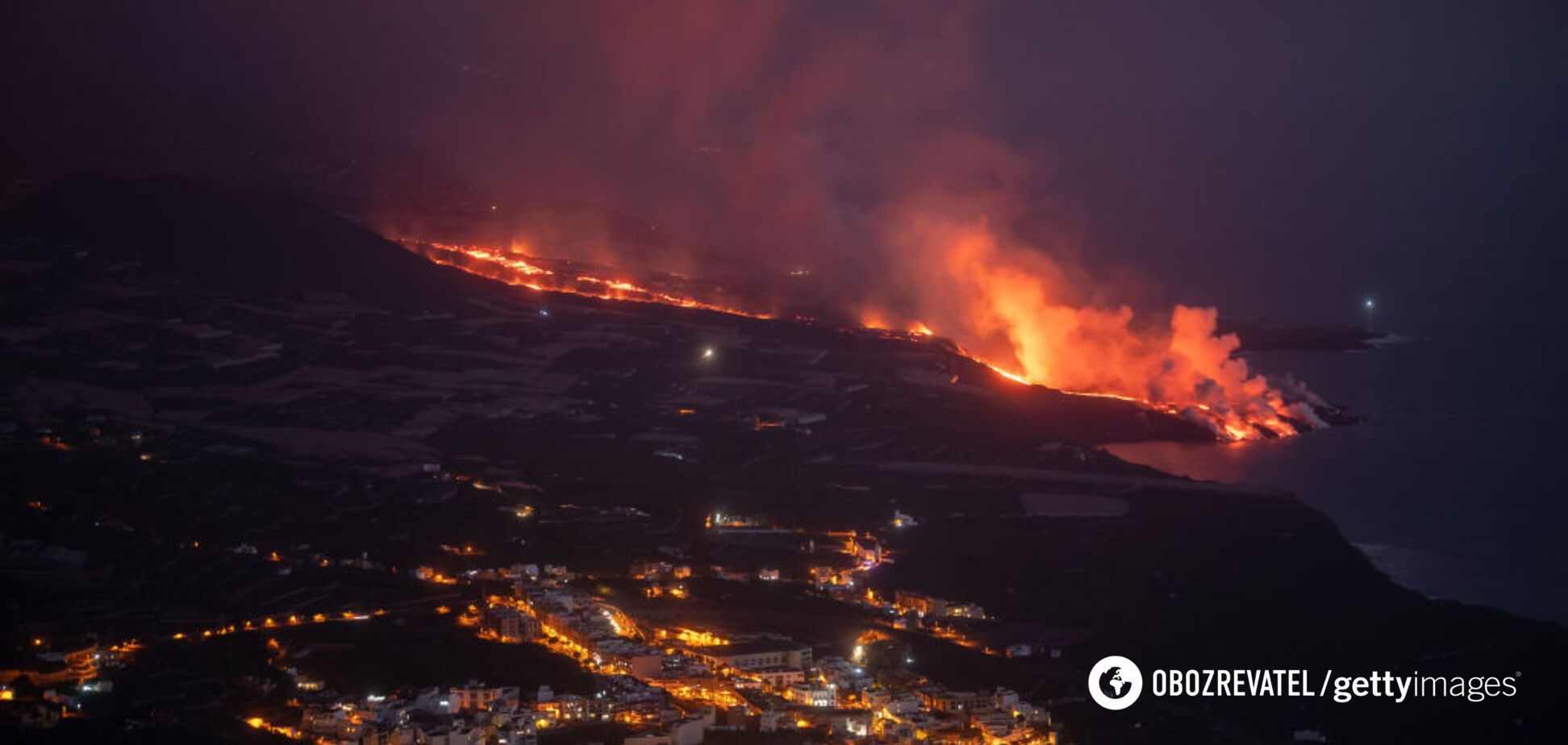 Аеропорт Ла-Пальма в Іспанії закрили через виверження вулкана: ситуація погіршилася. Фото і відео
