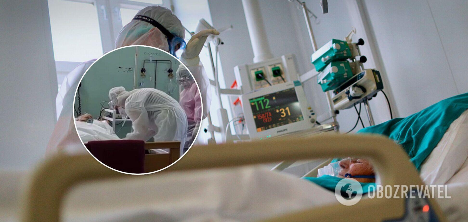 Стогін хворих і гул концентраторів: з'явилося нове відео з COVID-лікарні в Мелітополі