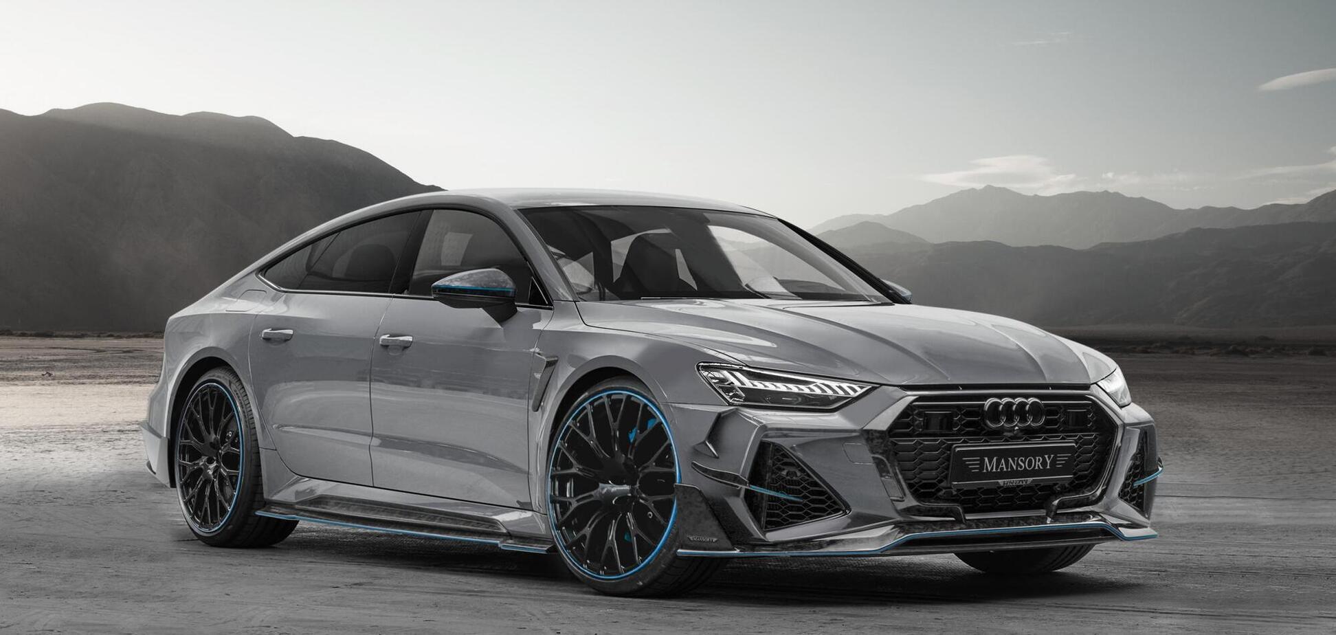 Mansory підготував пакет оновлень для Audi RS7 Sportback