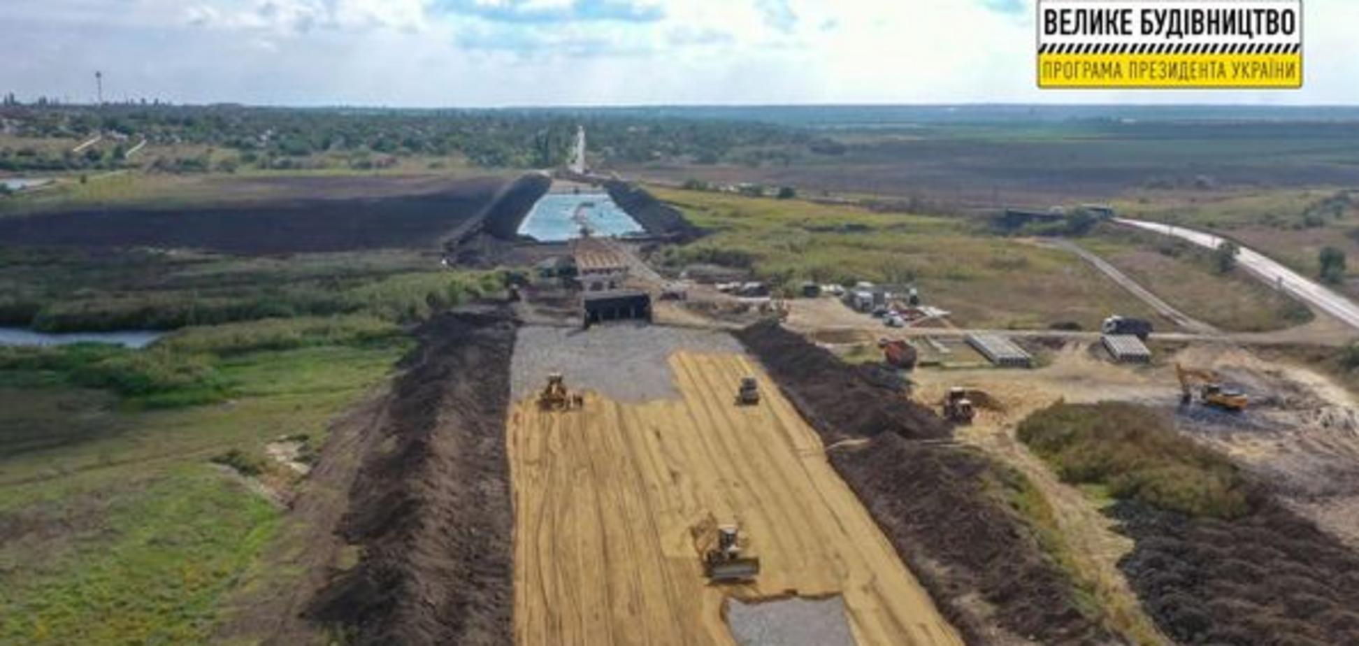 У Миколаївській області розпочалося будівництво нового Троїцького мосту