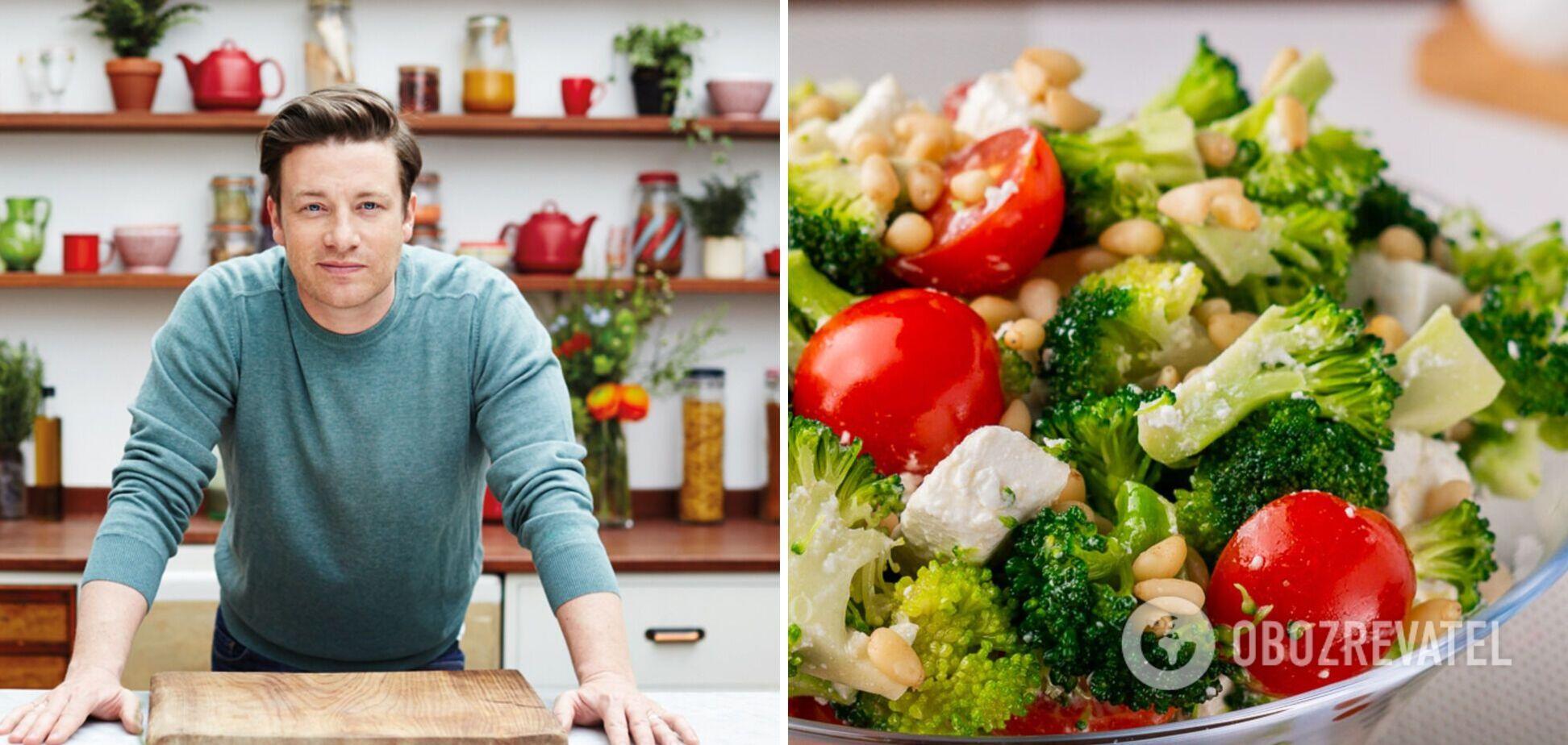 Рецепт смачного та корисного салату від Джеймі Олівера