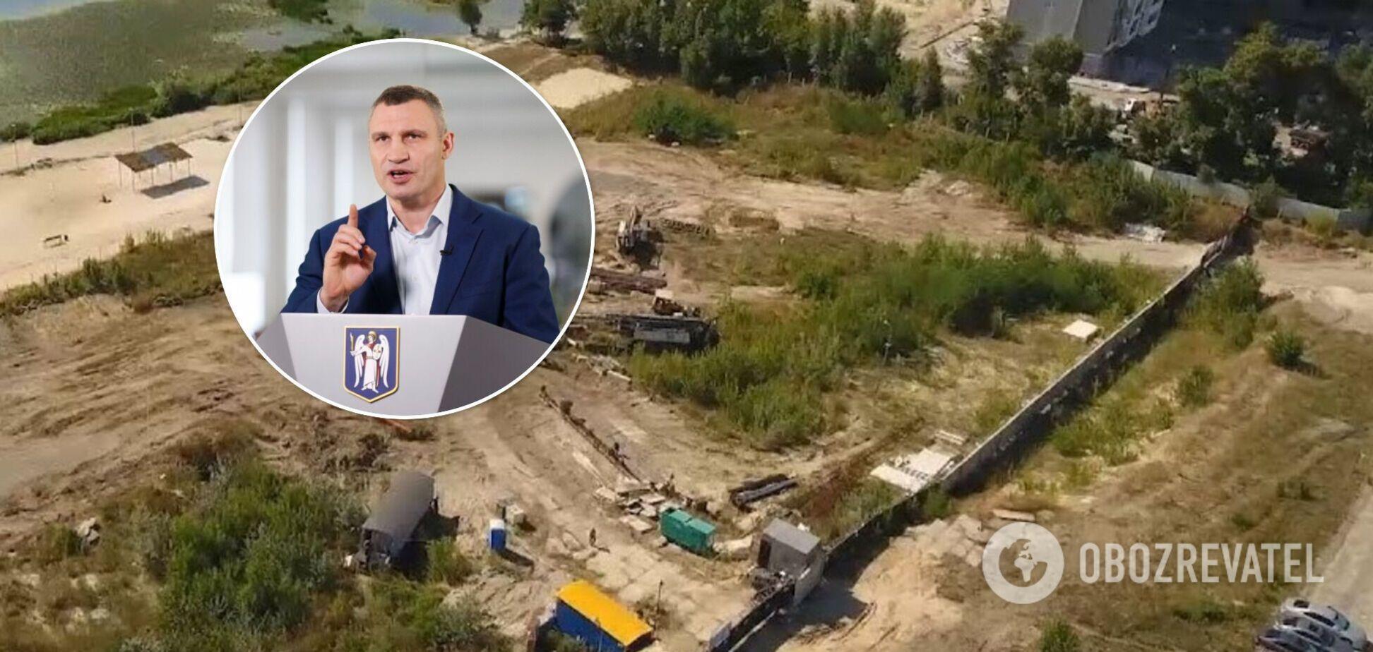 Городская власть не давала разрешения на строительство в Никольской Слободке, действия застройщика незаконны – Кличко