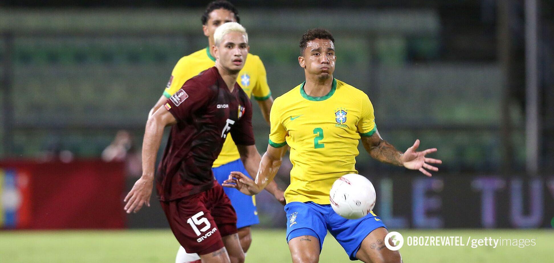 Гол гравця 'Динамо' ледь не поставив на коліна збірну Бразилії: огляд матчів відбору ЧС
