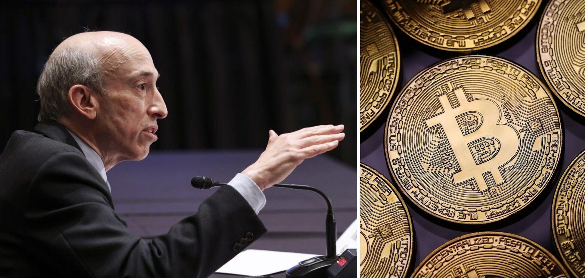 Генслер розповів про регулювання крипторинку в США