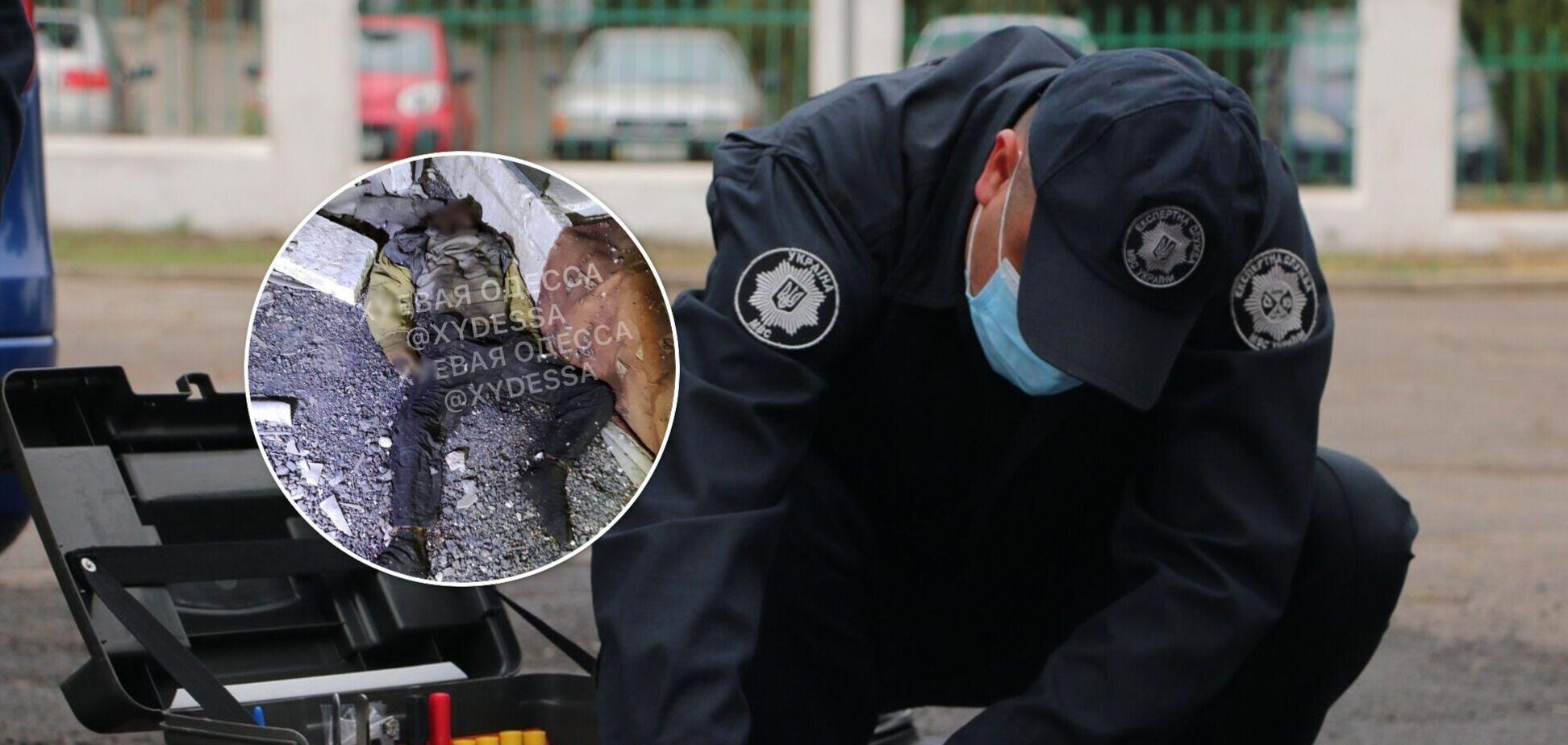 В Одесі комунальники натрапили на скелет людини: поліція почала розслідування. Фото