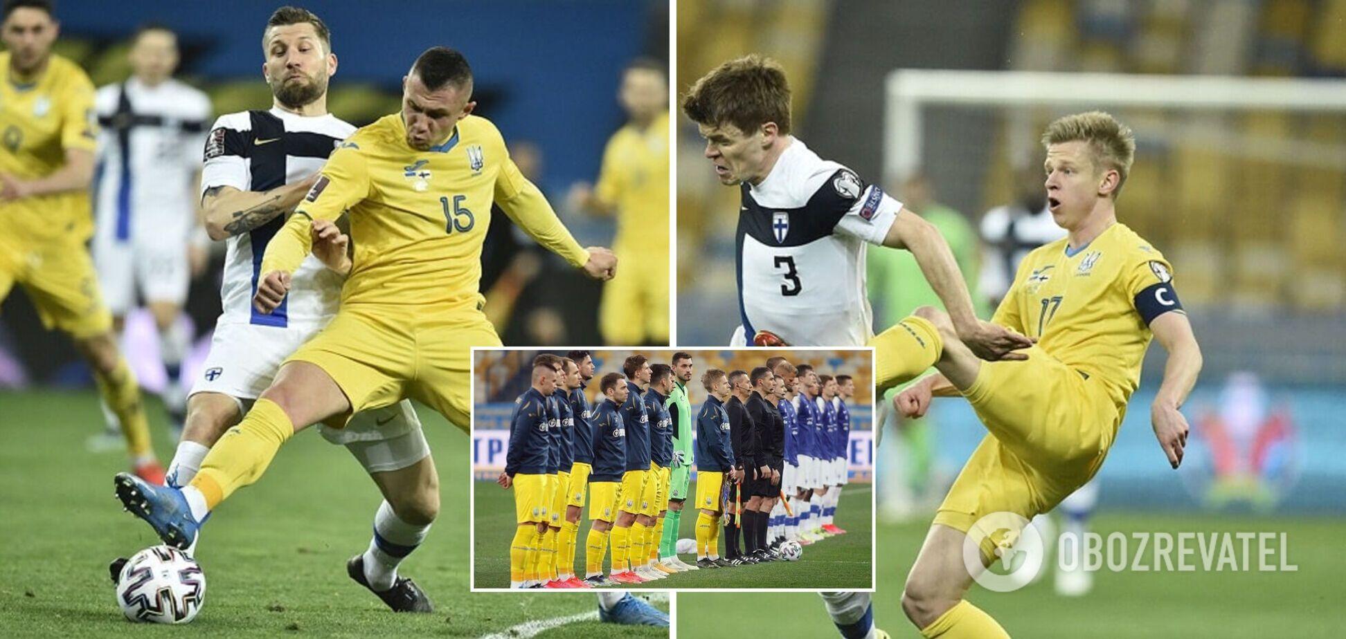 Фінляндія – Україна – 1-2: онлайн-трансляція матчу відбору ЧС-2022