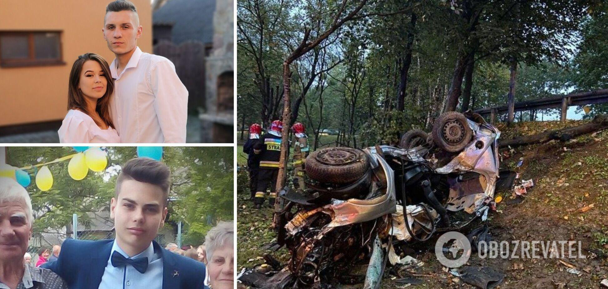 У Польщі розбилися двоє молодих українців: подробиці ДТП