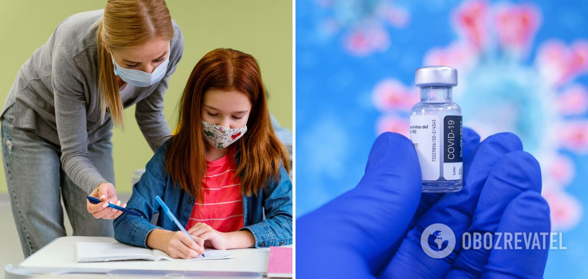 Рівень вакцинації співробітників шкіл зростає, але повільно