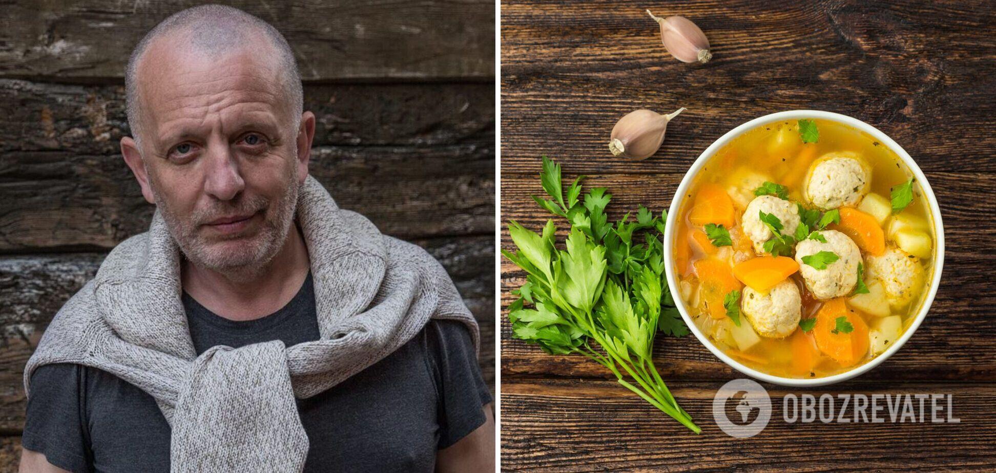 Суп с фрикадельками для детей от Саввы Либкина