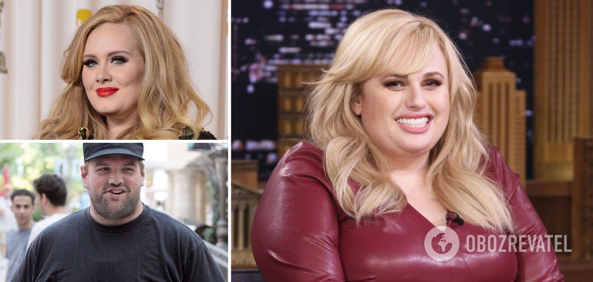 Знаменитості, які побороли ожиріння