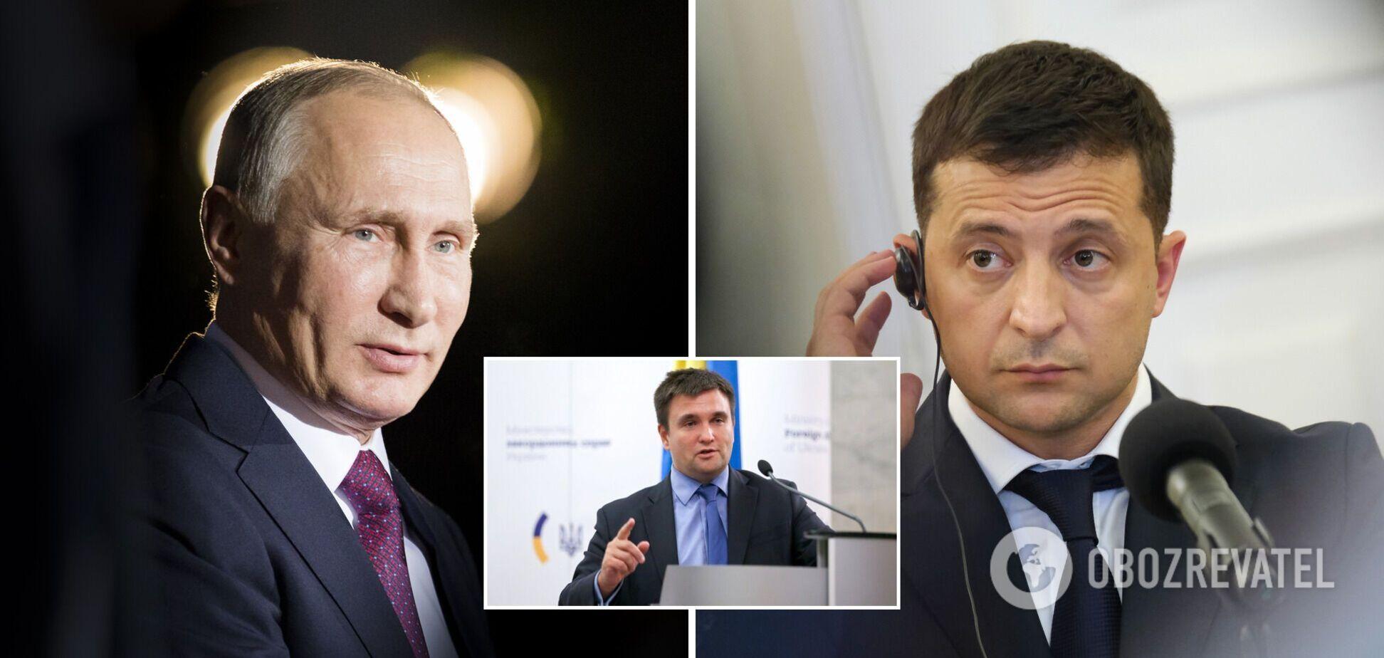 Клімкін попередив про небезпеку зустрічі Зеленського і Путіна