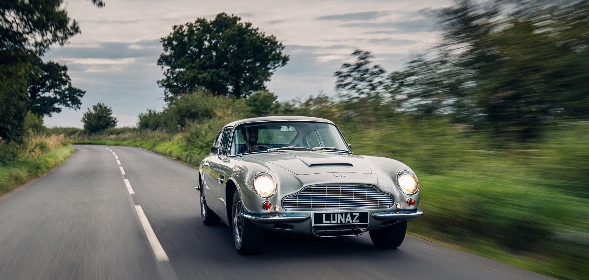 Британцы переделали классический Aston Martin в электромобиль