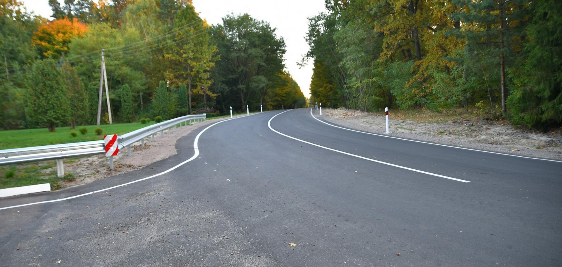 На Ривненщине завершился ремонт 4-километрового участка дороги