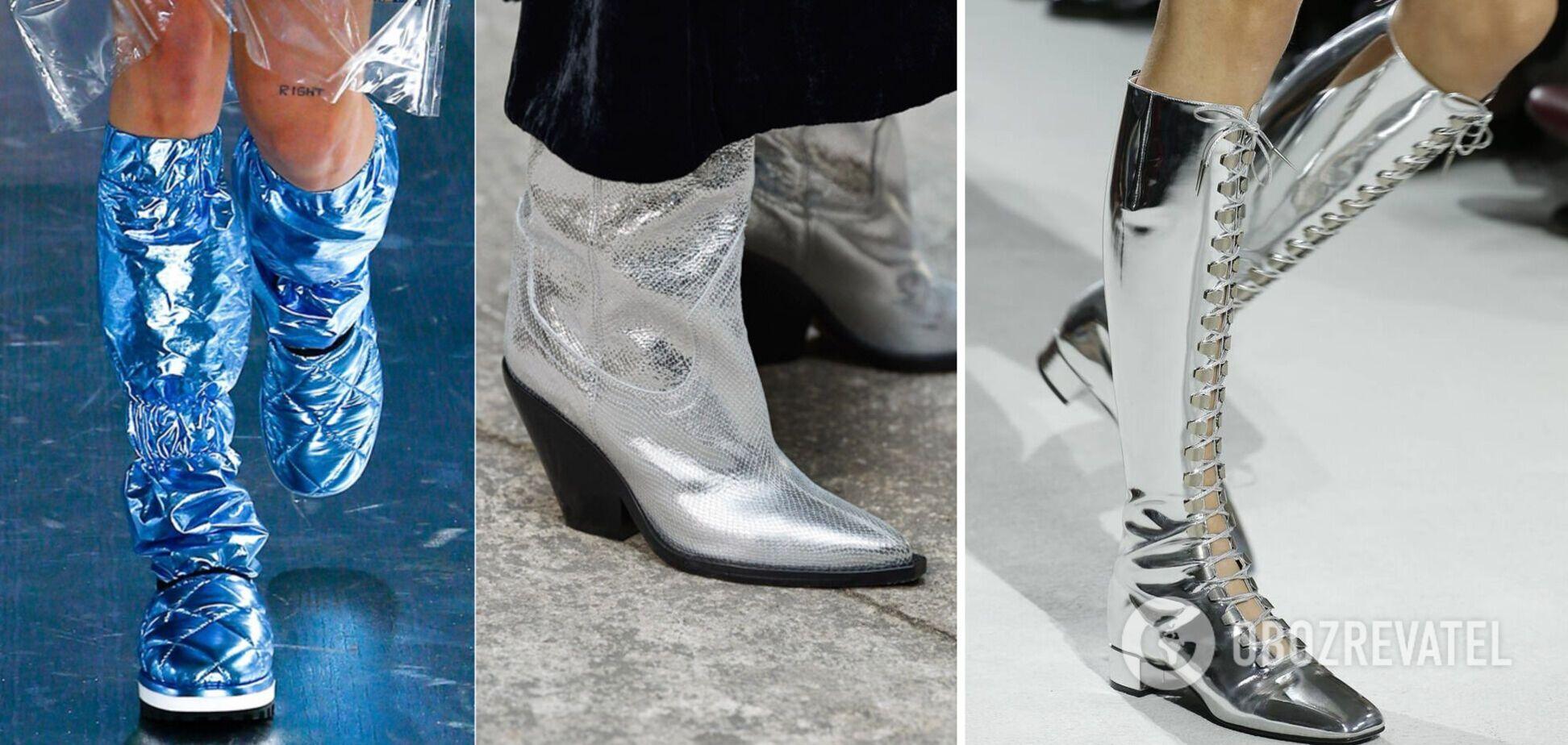 Модные сапоги нового сезона