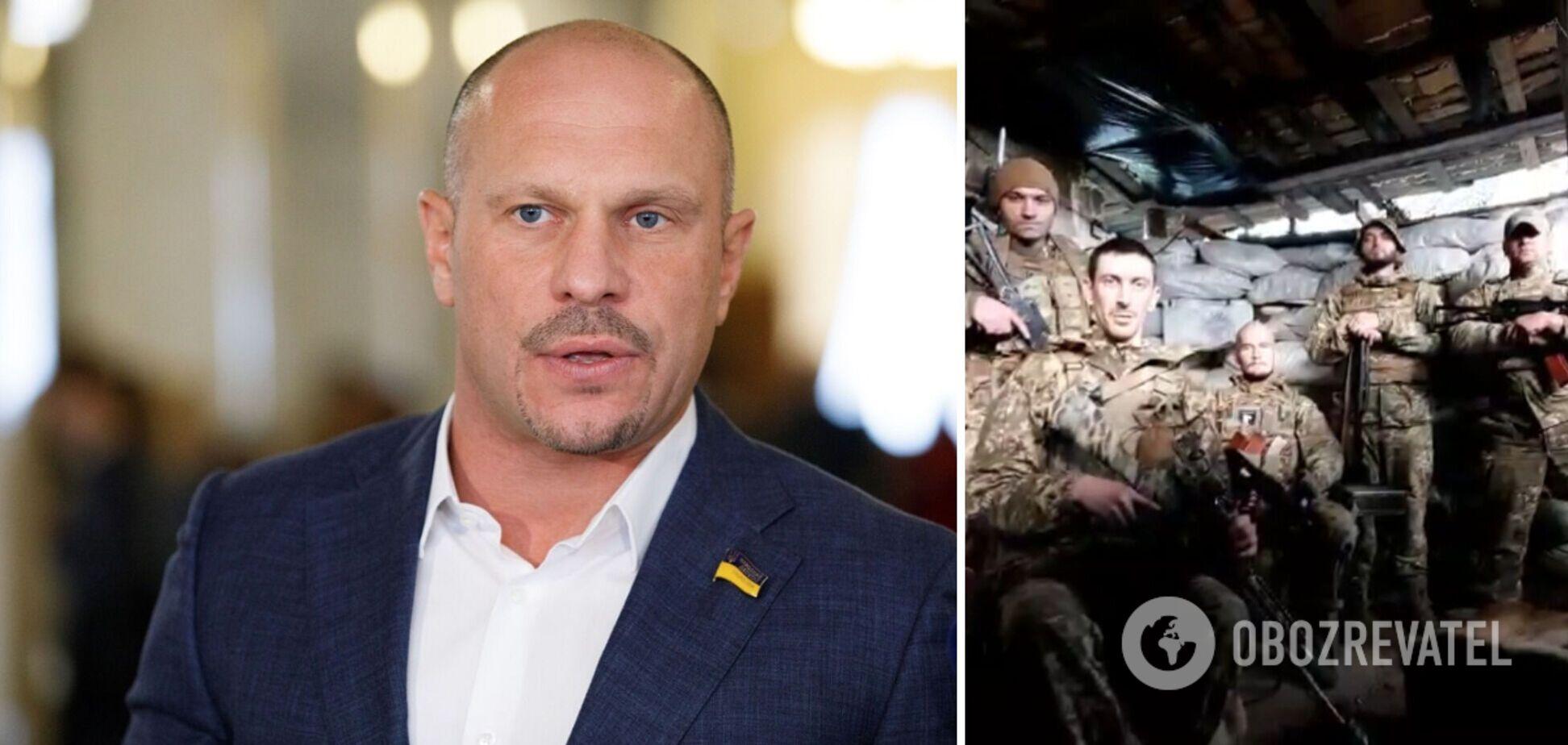 Ти плюнув на могили загиблих бійців: українські військові передали 'привіт' Киві з передової. Відео