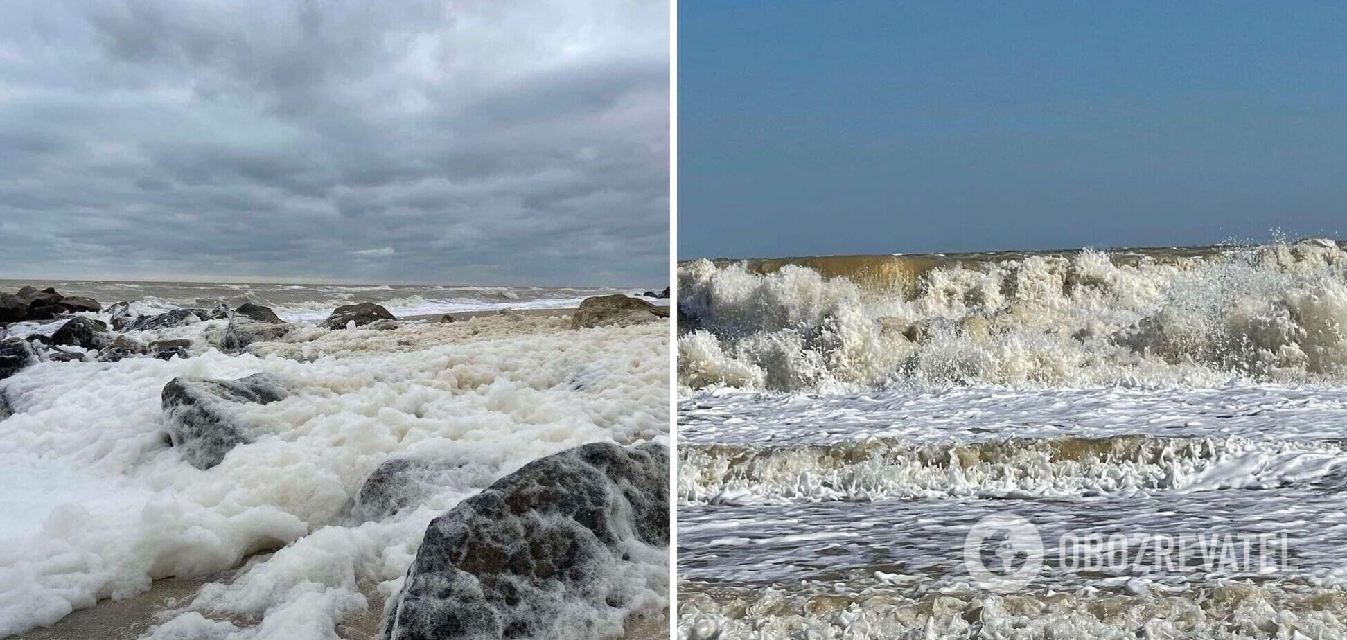 На Азовском море зафиксировали природный феномен