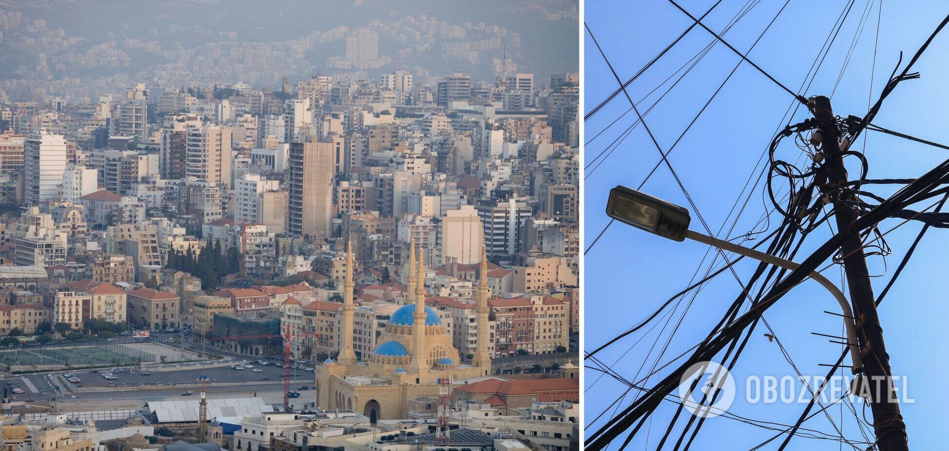 Ливан остался без электричества