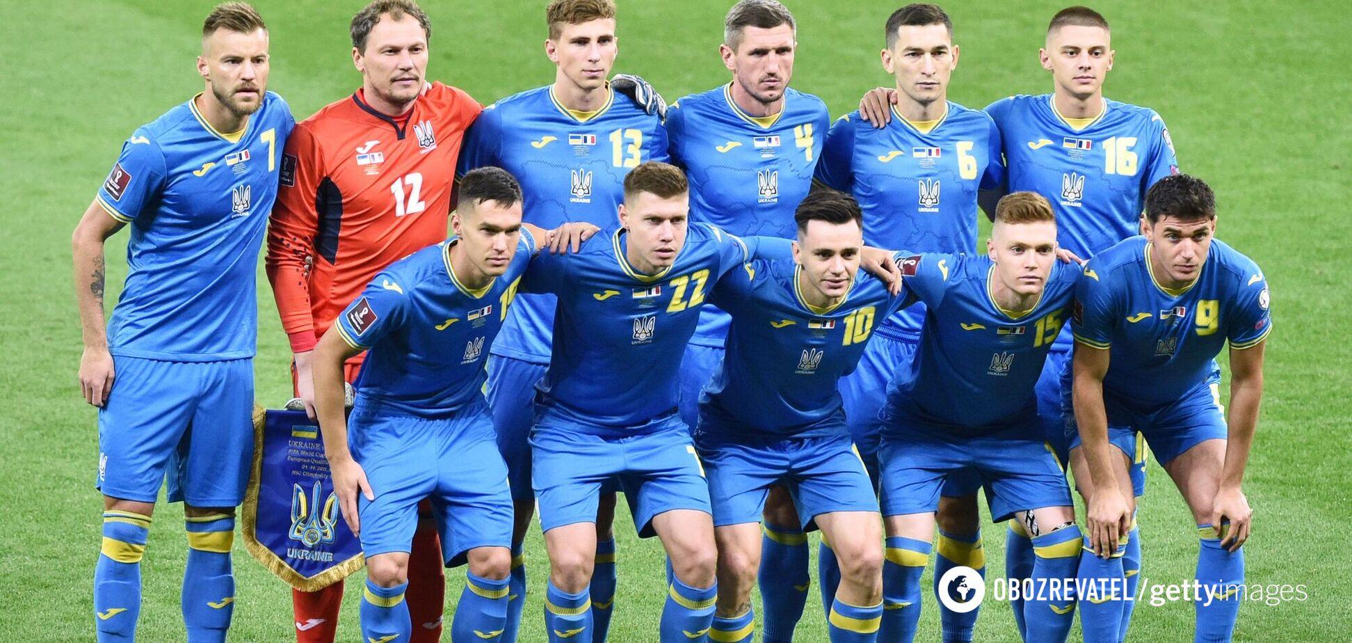 Україна назвала заявку на матч з Боснією у відборі ЧС з футболу та вибрала форму