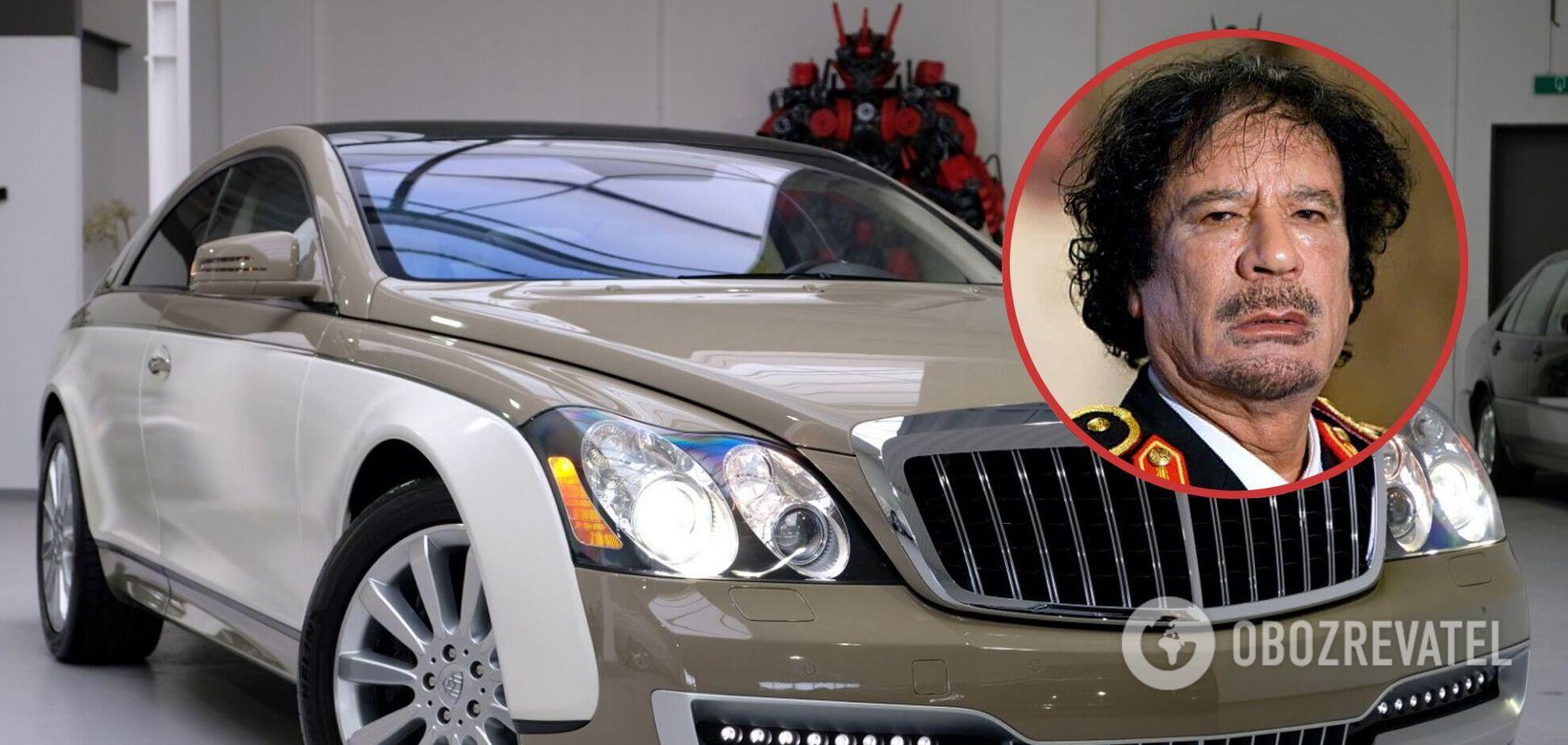 На продаж виставили купе Maybach Муаммара Каддафі