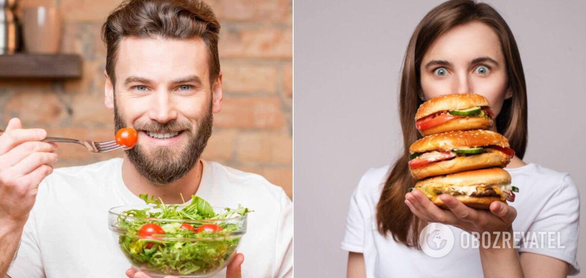 Як довжина пальців пов'язана з вибором їжі: знайдено незвичайний зв'язок