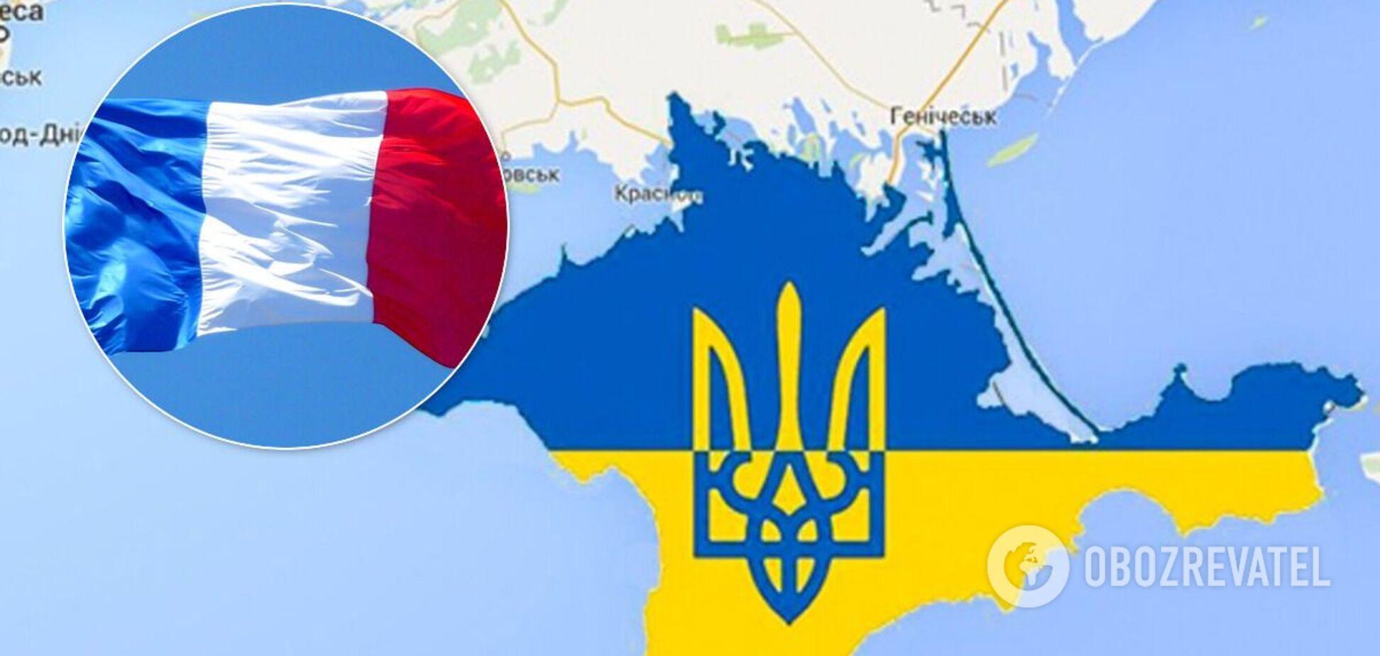 Во Франции заявили о готовности присоединиться к Крымской платформе