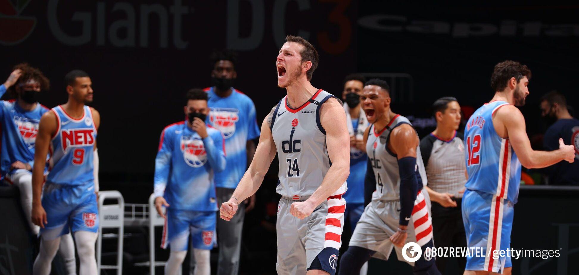 Игроки 'Вашингтона' празднуют победу