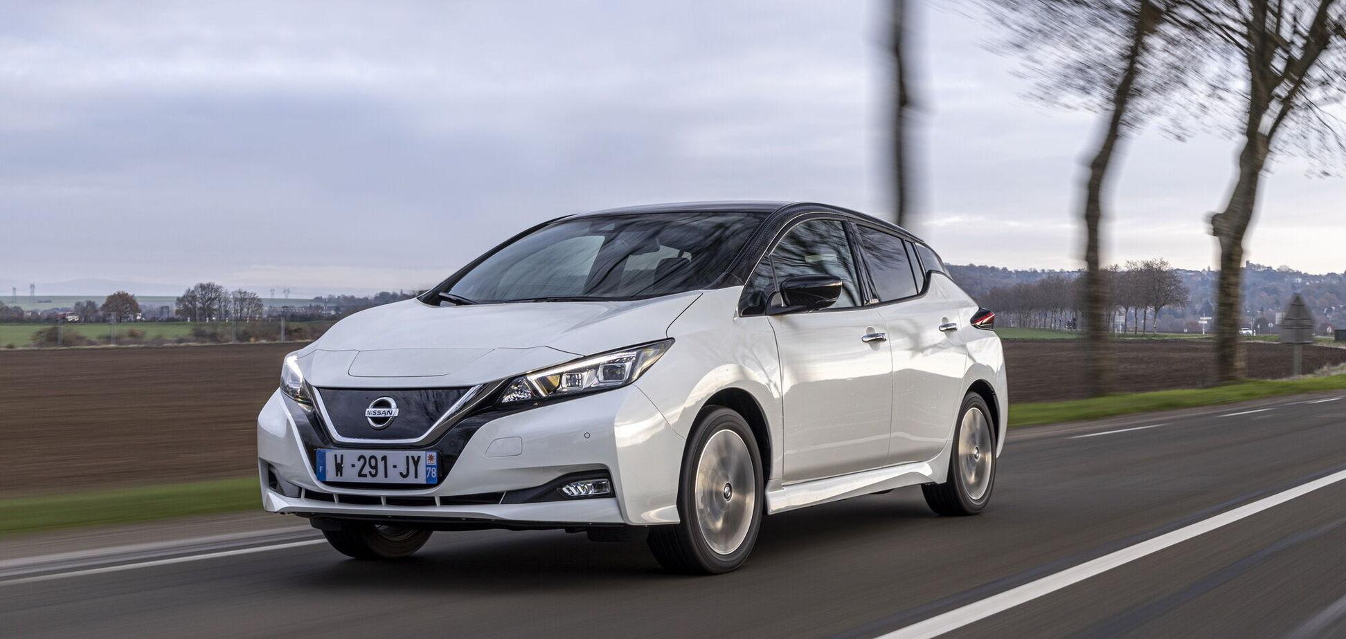 Nissan випустив ювілейну серію електромобілів Leaf