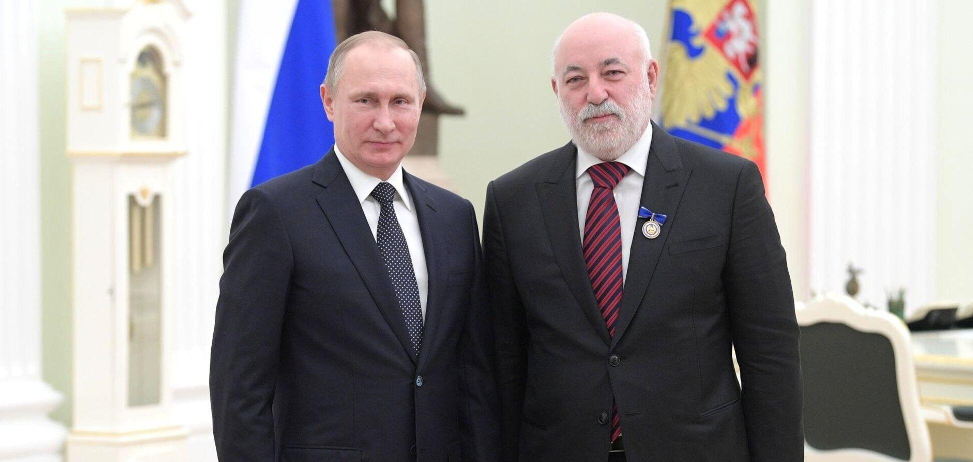 Володимир Путін і Віктор Вексельберг