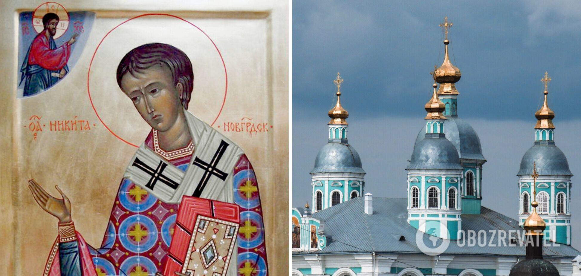 Святитель Никита Печерский был родом из Киева