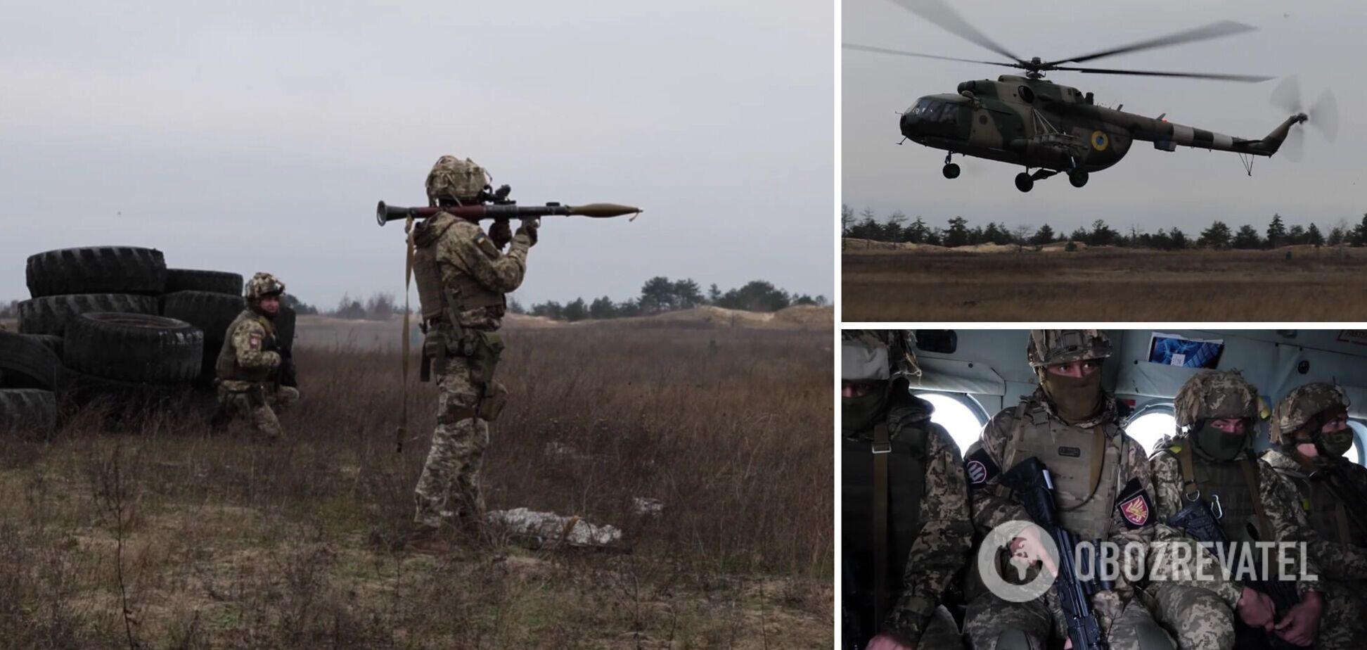 Военные учения на Херсонщине