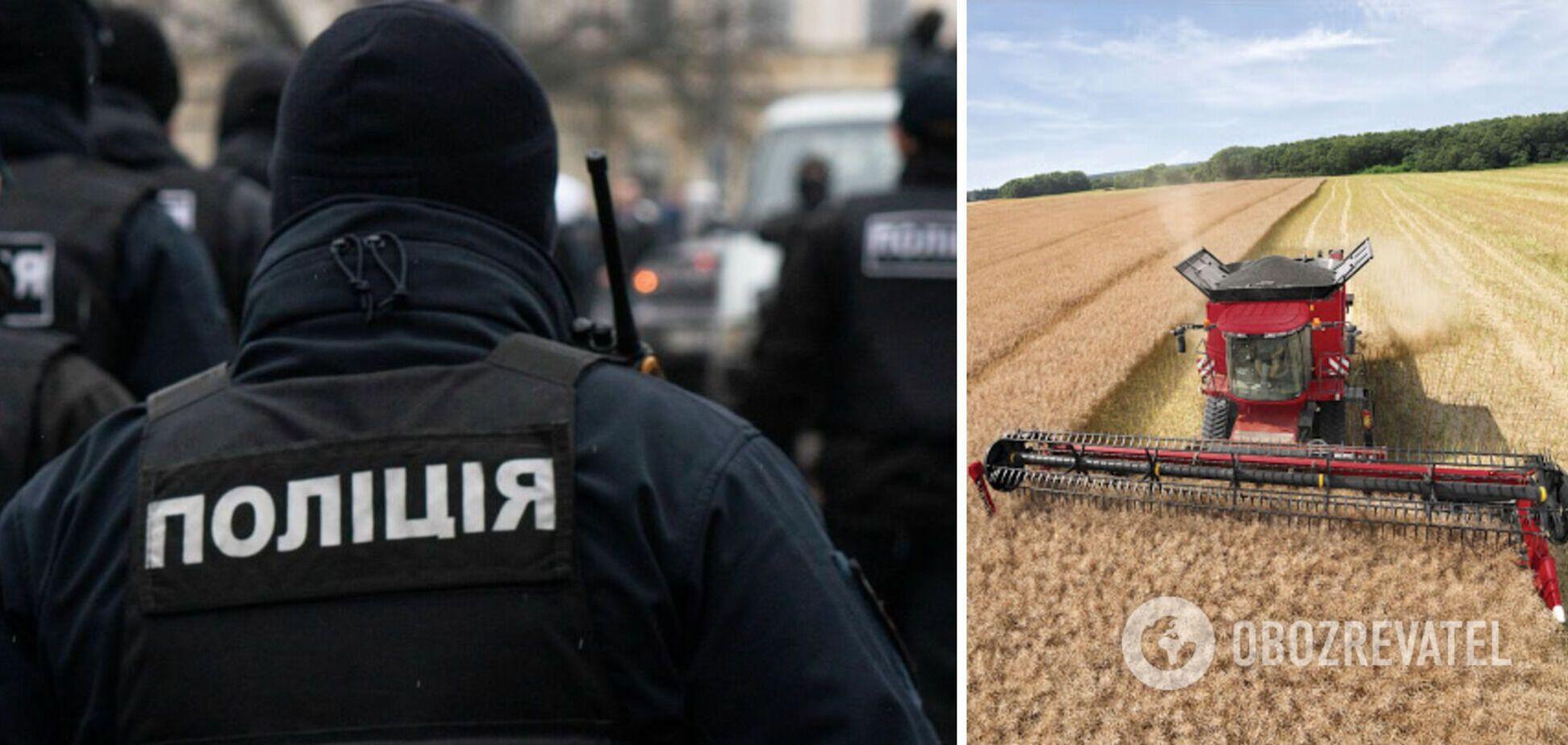 На Харьковщине полицейских обвинили в избиении фермеров